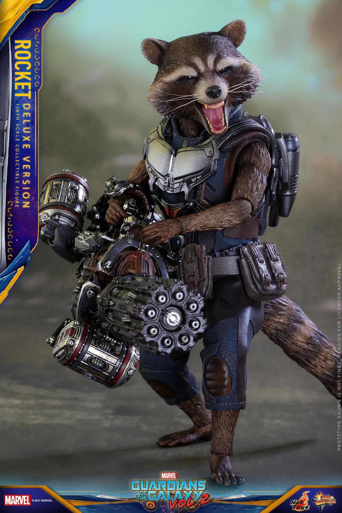 GOTOII - Rocket Collectible Figure_Deluxe_PR3