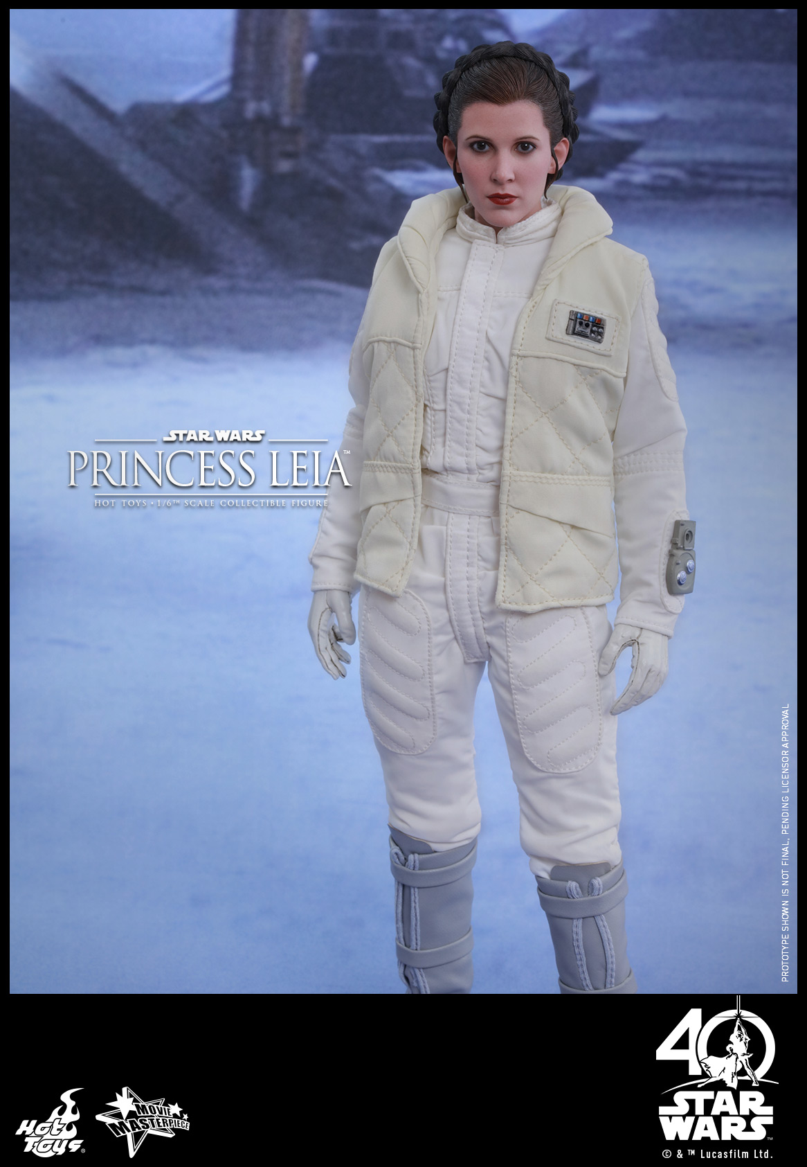 Hot Toys - Star Wars - EP5 - Princess Leia collecitble figure_PR1