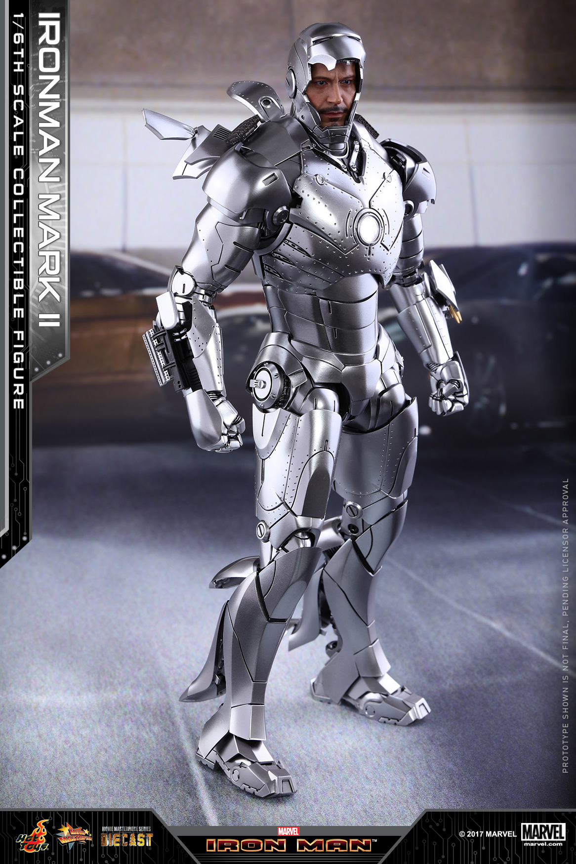Hot Toys - Iron Man - Mark II Diecast Collectible Figure_PR1