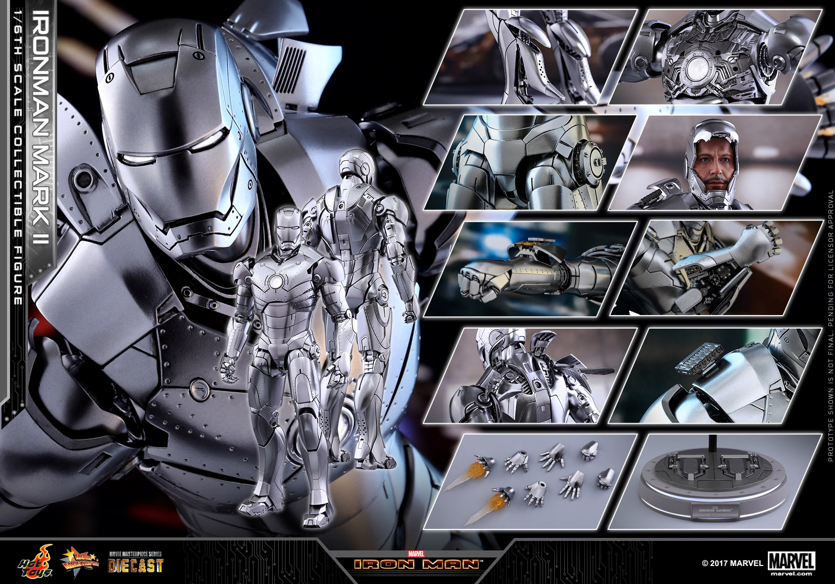 Hot Toys - Iron Man - Mark II Diecast Collectible Figure_PR19 (Normal-Version)