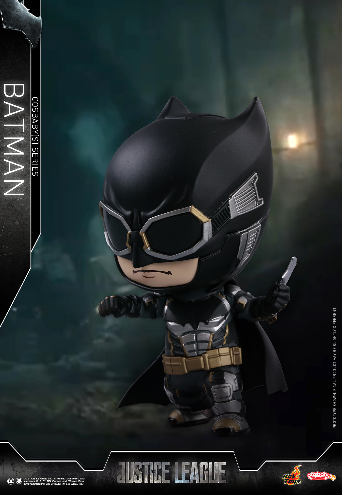Hot Toys - Justice League - Cosbaby (S) - Batman_PR2