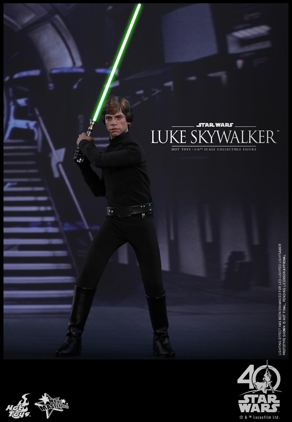 Hot Toys - SW - ROTJ - Luke Skywalker collectible figure_PR1