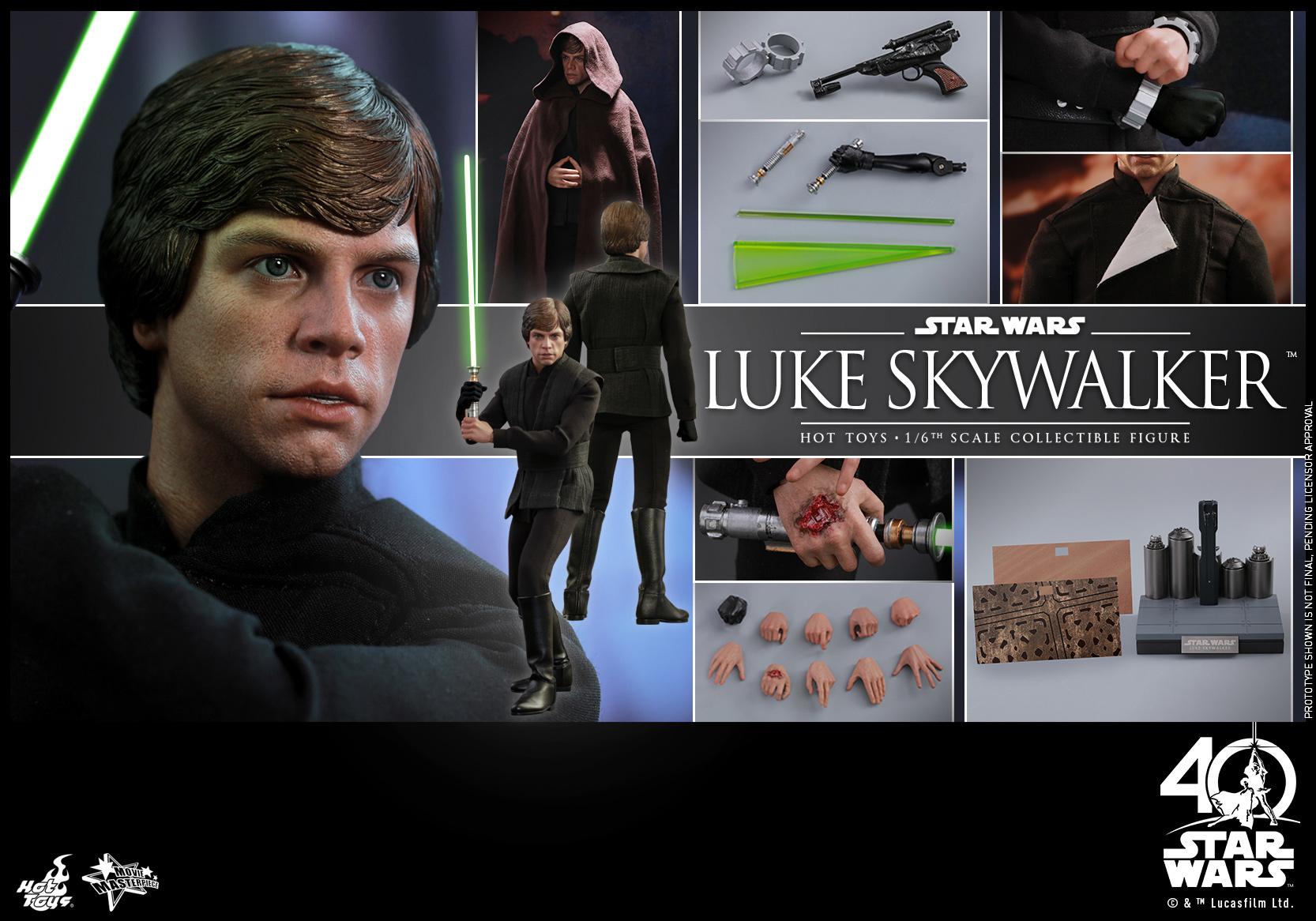 Hot Toys - SW - ROTJ - Luke Skywalker collectible figure_PR22