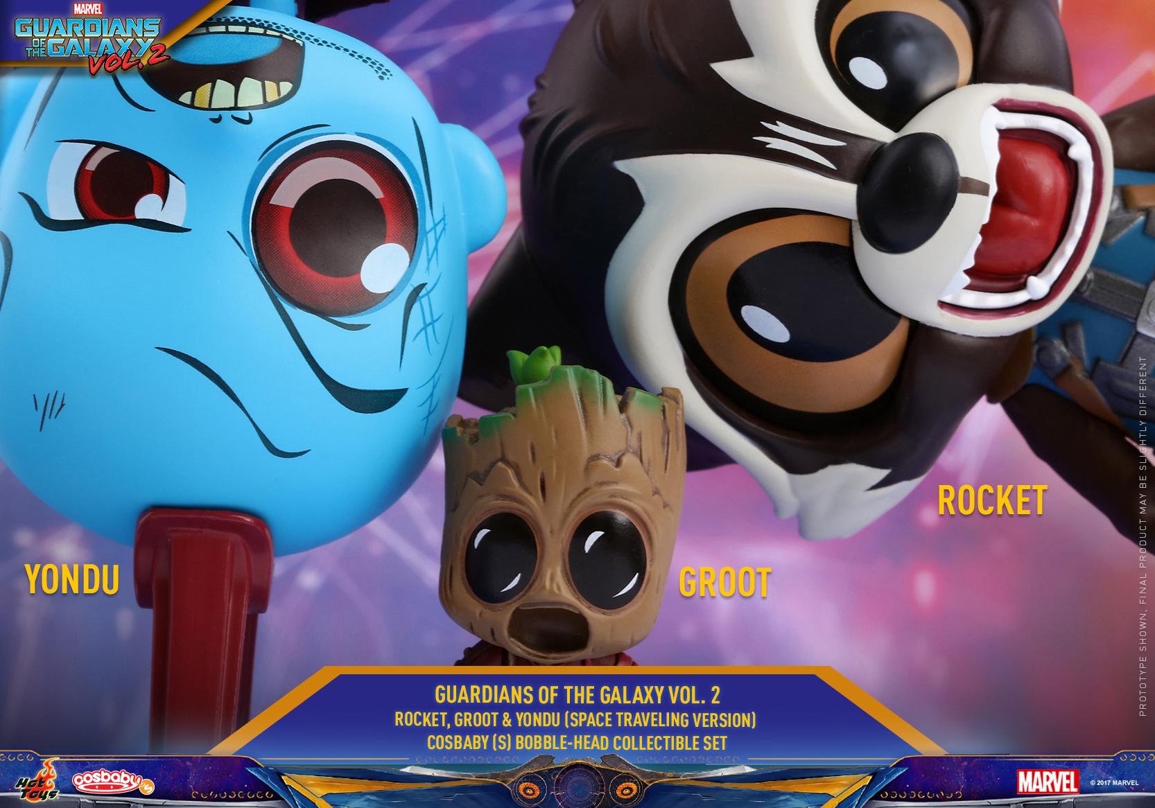 Hot-Toys---GOTGII---Rocket,-Groot-&-Yondu-Cosbaby-Collectible-Set_PR1