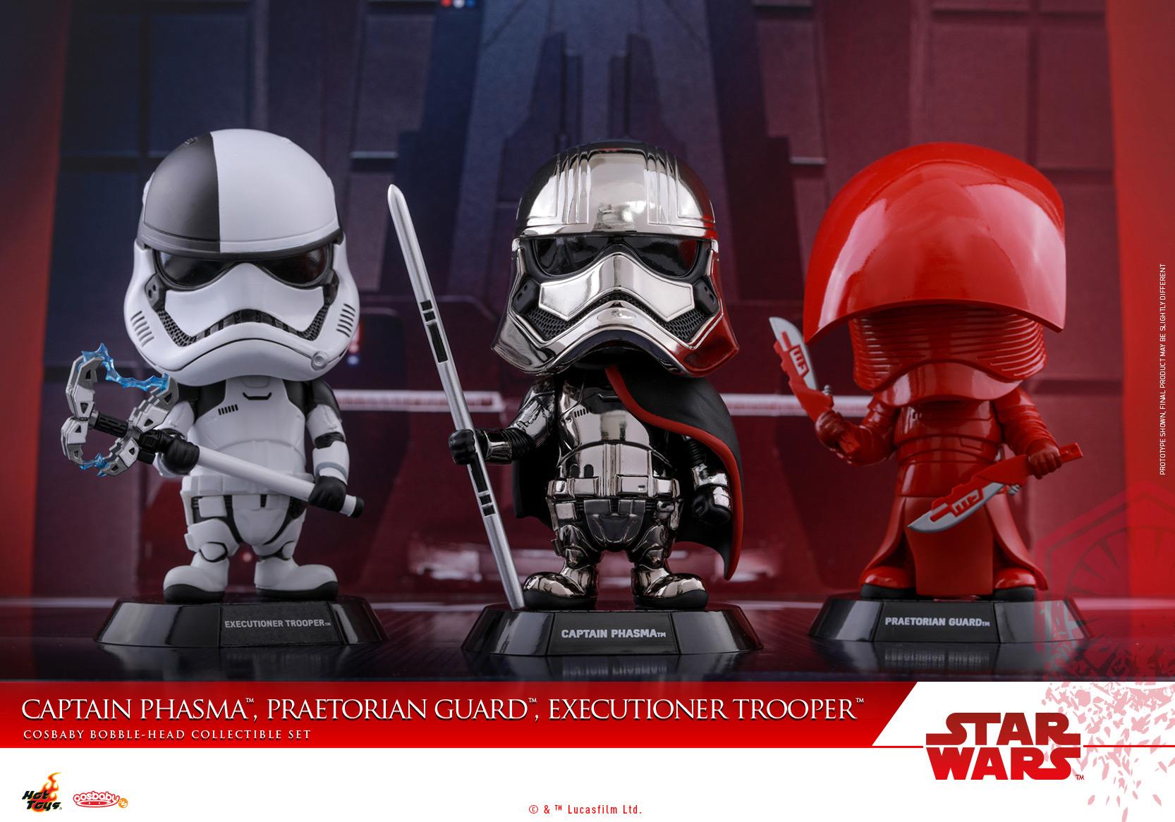 Hot-Toys---Star-Wars-The-Last-Jedi---Captain-Phasma,-Praetorian-Guard,-Executioner-Trooper-Cosbaby-Collectible-Set_PR2