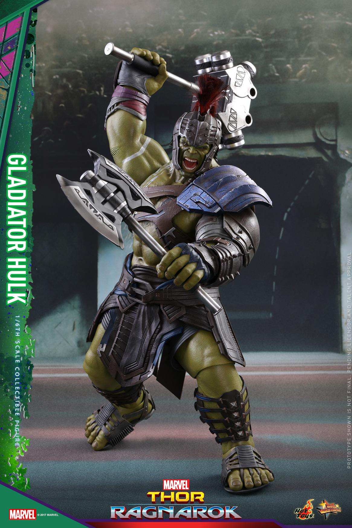 Hot Toys - Thor 3 - Gladiator Hulk Collectible Figure_PR1