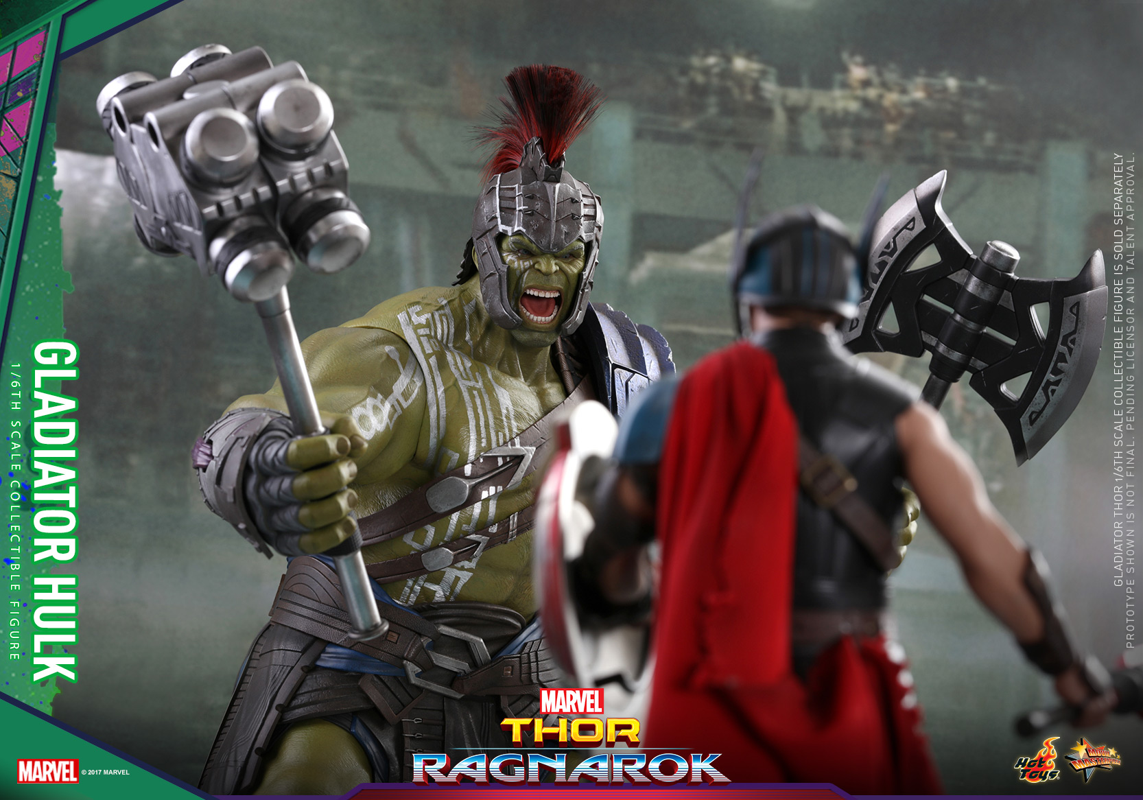 Hot Toys - Thor 3 - Gladiator Hulk Collectible Figure_PR13
