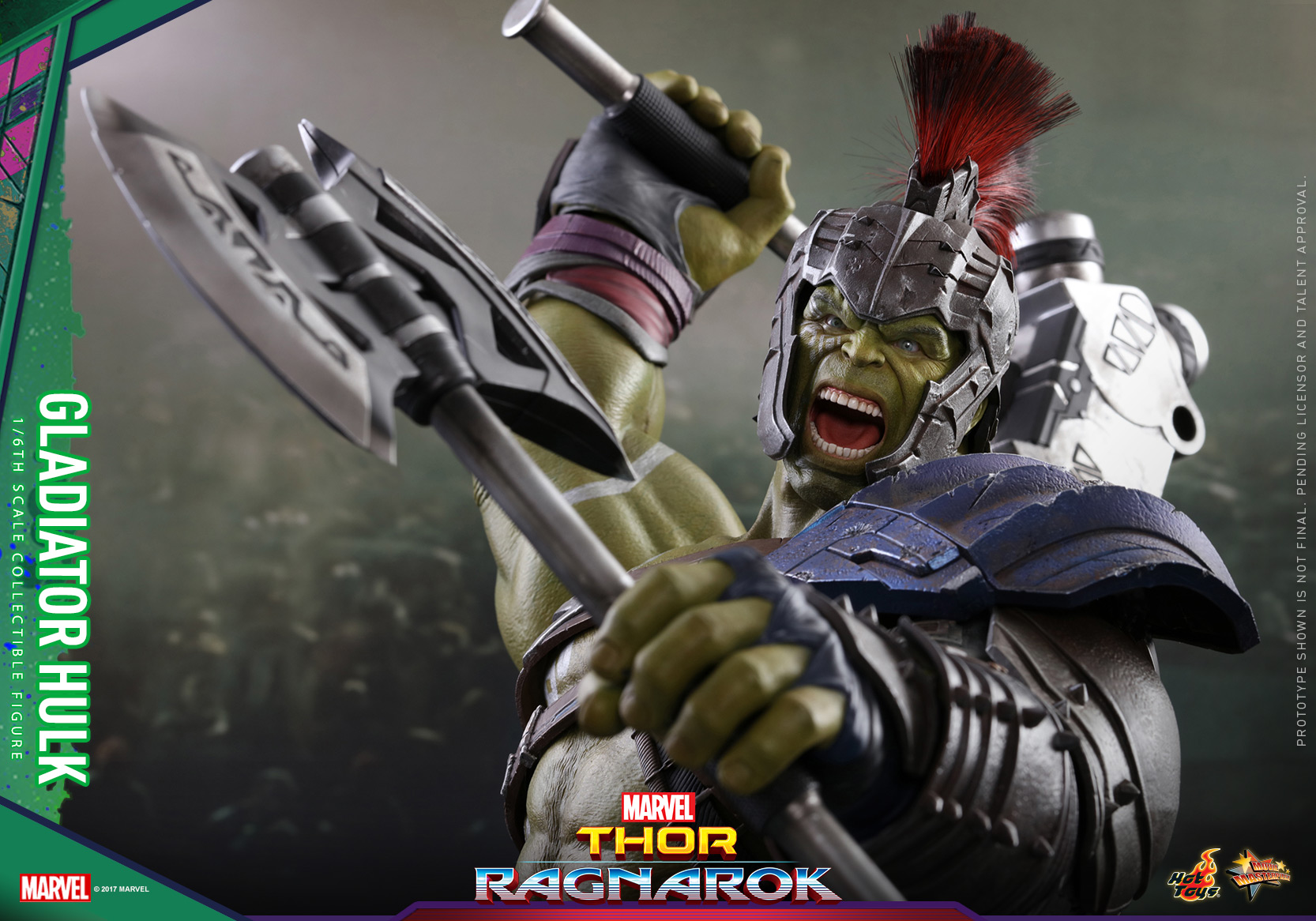 Hot Toys - Thor 3 - Gladiator Hulk Collectible Figure_PR21