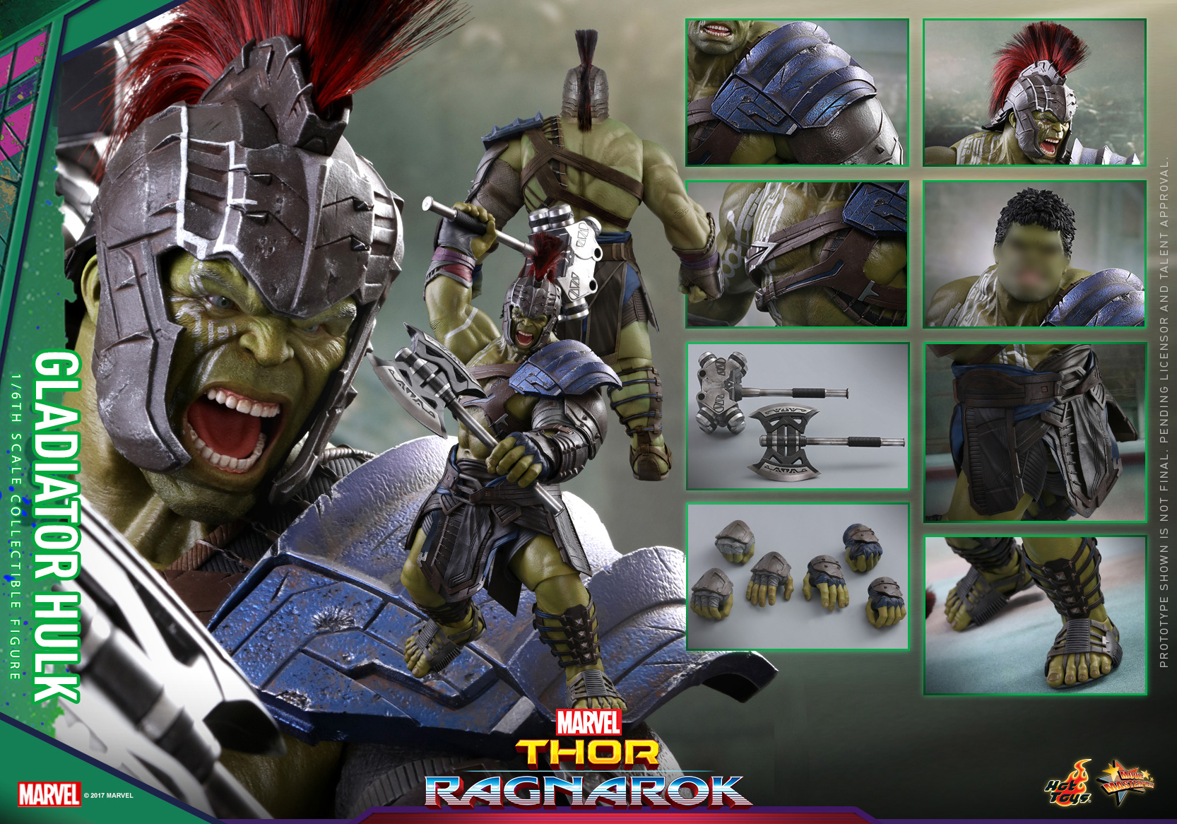 Hot Toys - Thor 3 - Gladiator Hulk Collectible Figure_PR24