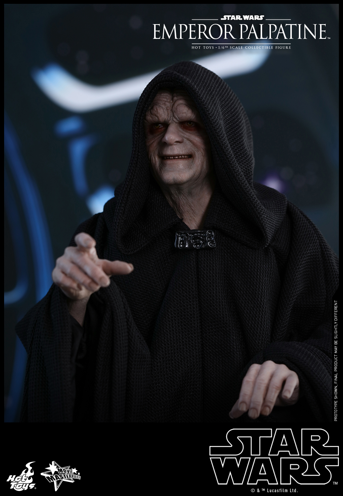 Hot Toys - SW - Emperor Palpatine collectible figure_PR6