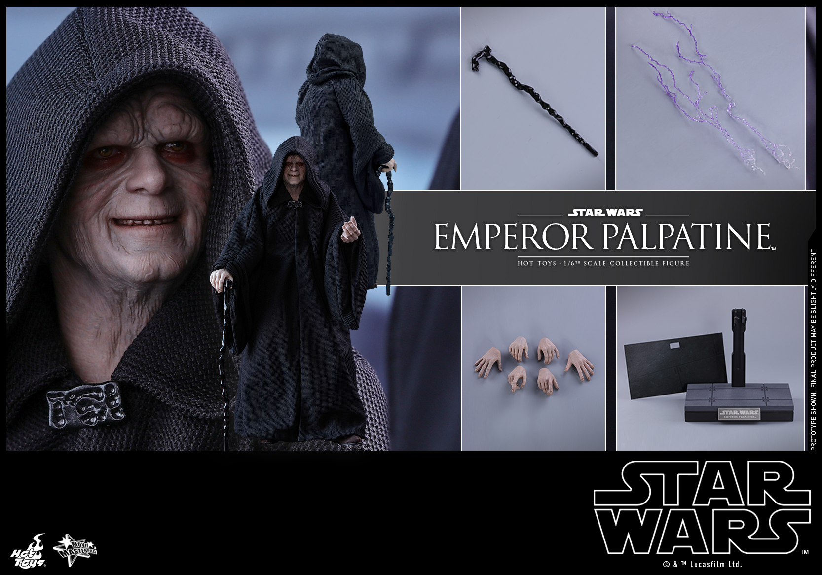 Hot Toys - SW - Emperor Palpatine collectible figure_PR7