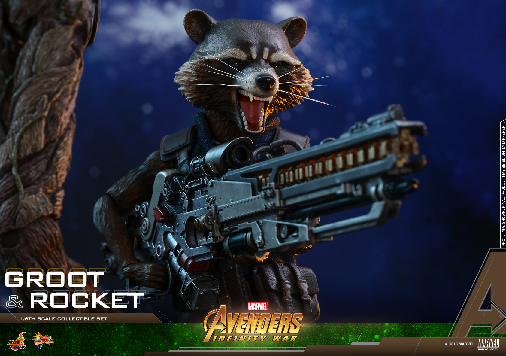 Hot Toys - AIW - Groot & Rocket collectible set_PR25
