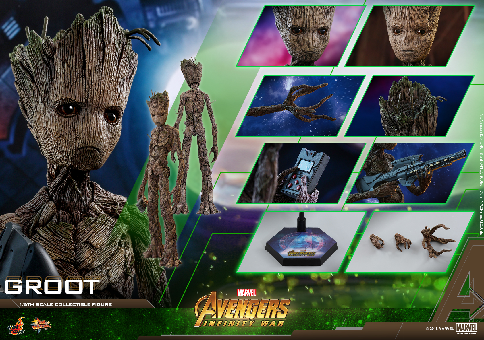 Hot Toys - AIW - Groot collectible figure_PR12