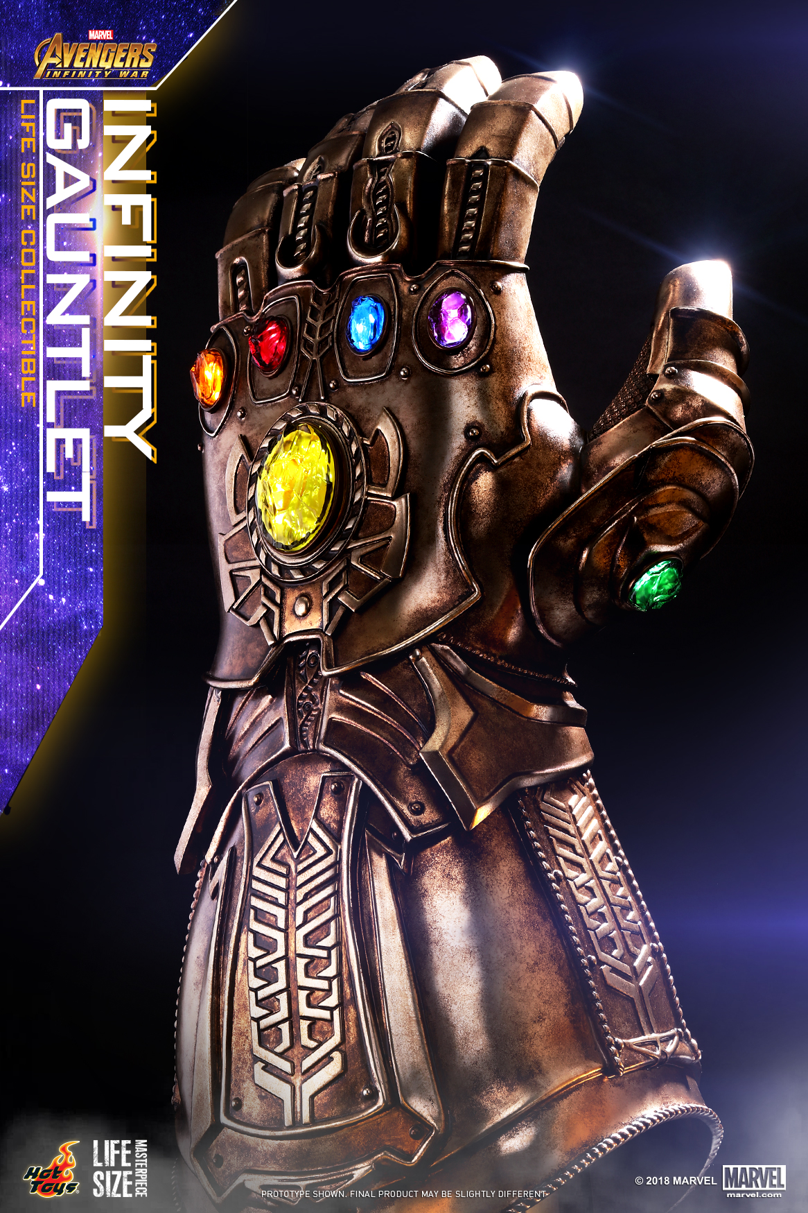 Hot Toys - AIW - Infinity Gauntlet Lifesize Collectible_PR3