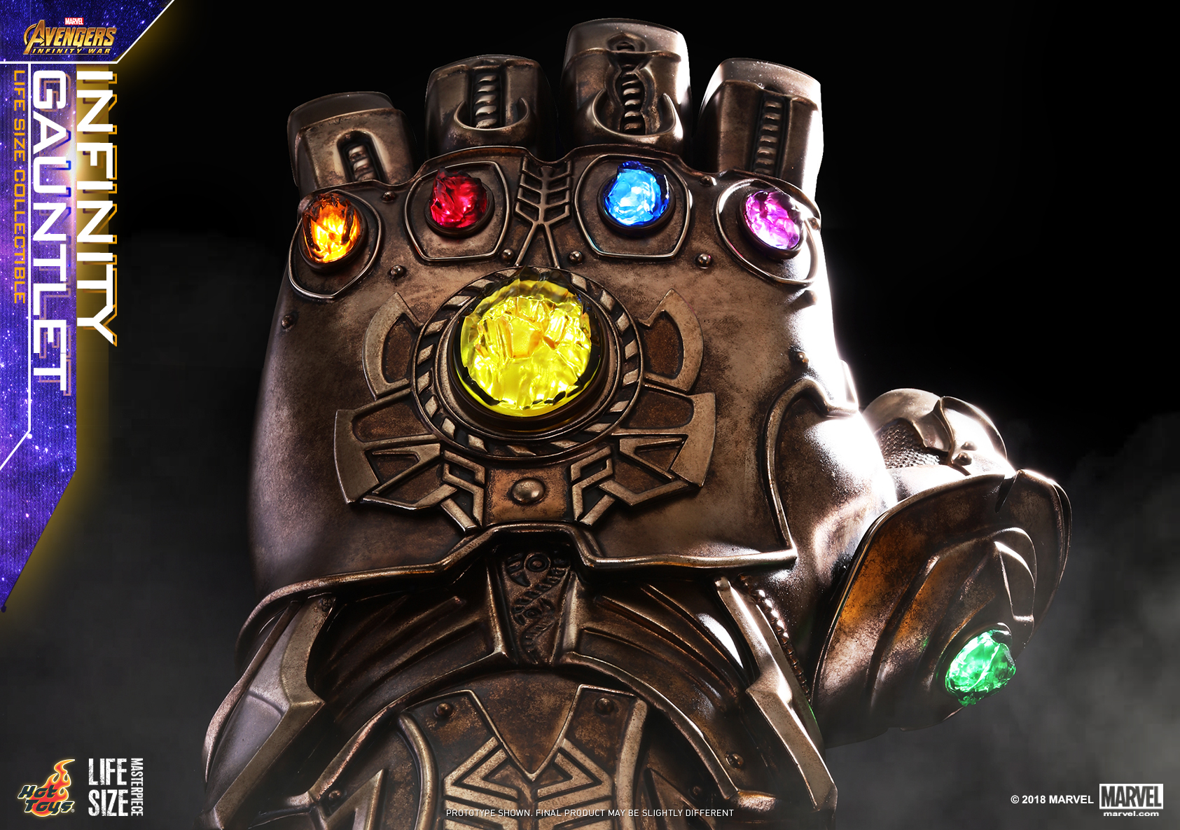 Hot Toys - AIW - Infinity Gauntlet Lifesize Collectible_PR6