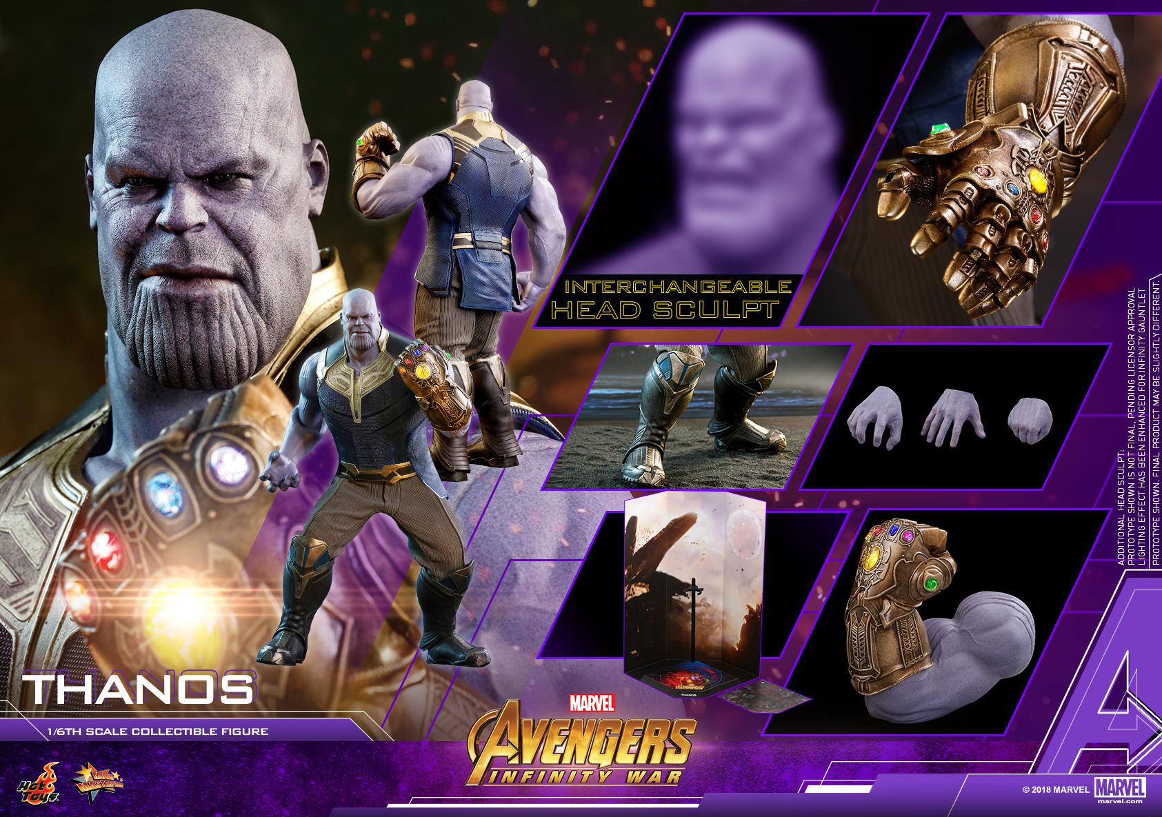 Hot Toys - AIW - Thanos collectible figure_PR24