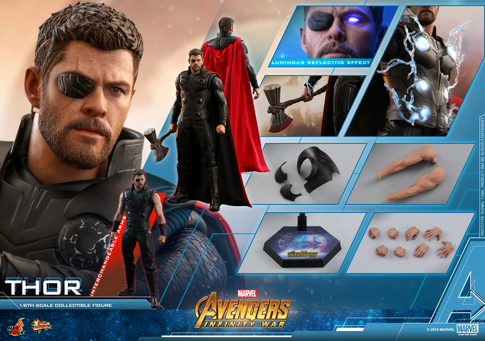 Hot Toys - AIW - Thor collectible figure_PR20