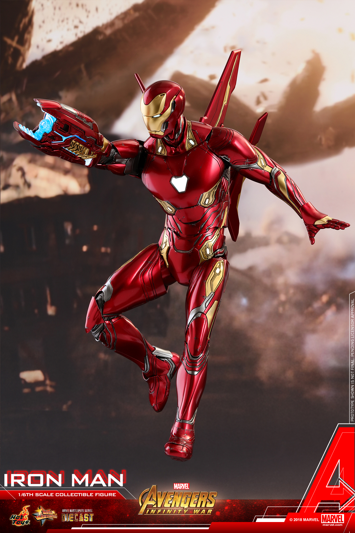 Hot Toys - Avengers 3 - Iron Man (Diecast) collectible figure_PR1