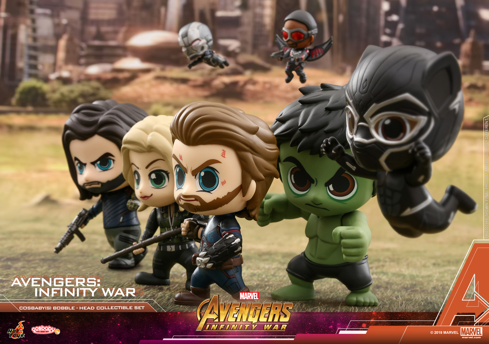 Hot Toys - Avengers - Infinity War Cosbaby (S) Collectible Set_PR3