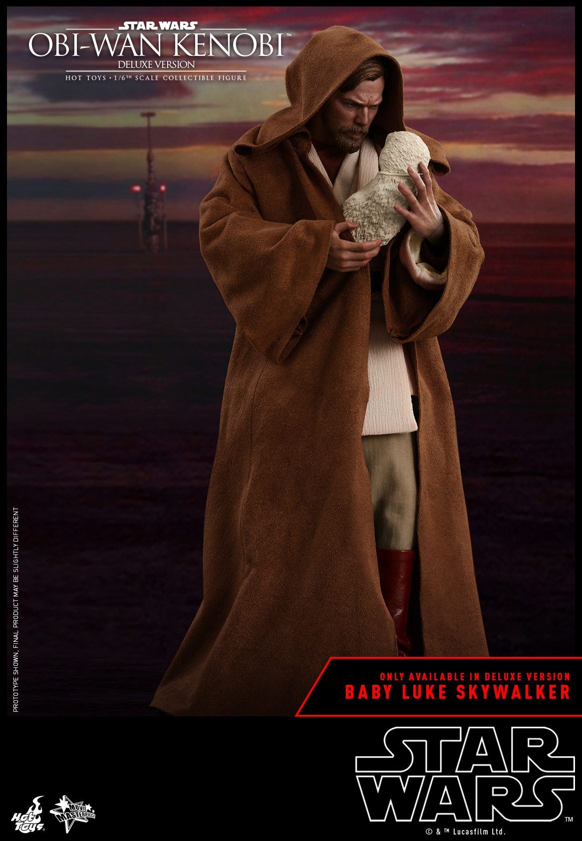 Hot Toys - SW - Obi-wan Kenobi collectible figure (Deluxe)_PR3