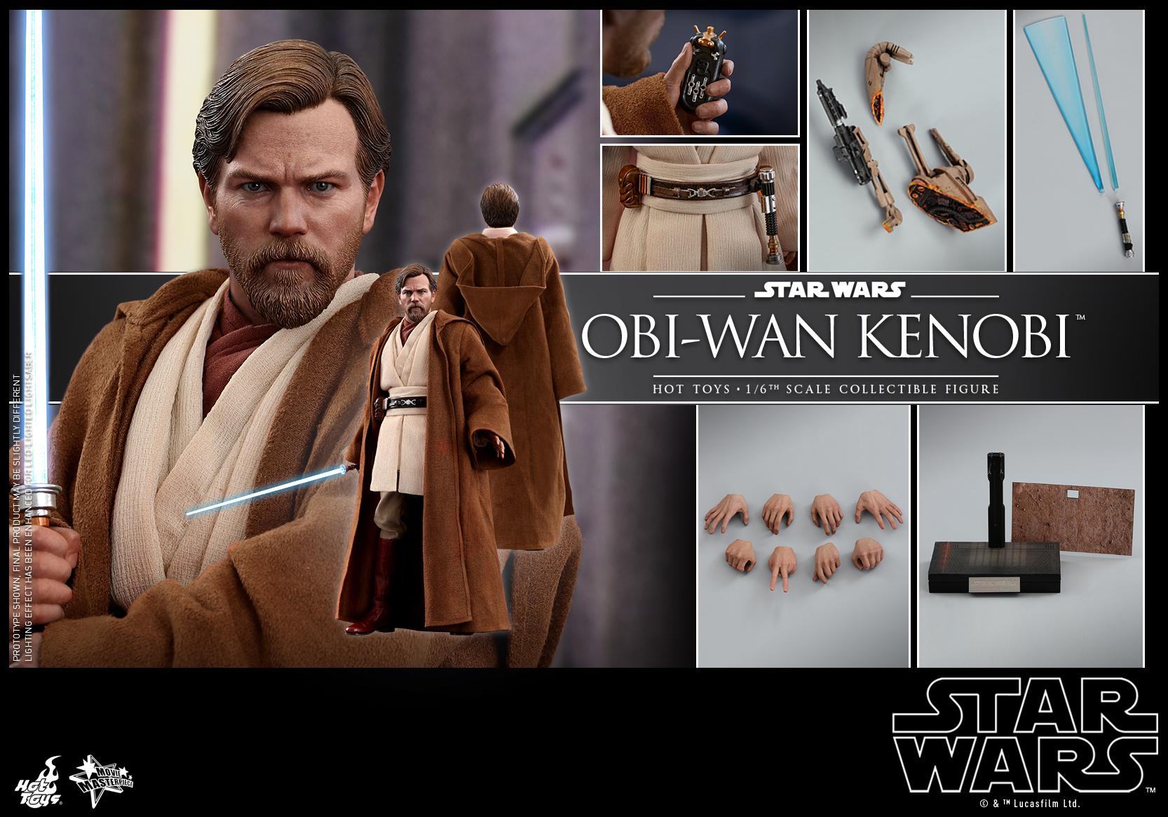 Hot Toys - SW - Obi-wan Kenobi collectible figure_PR15