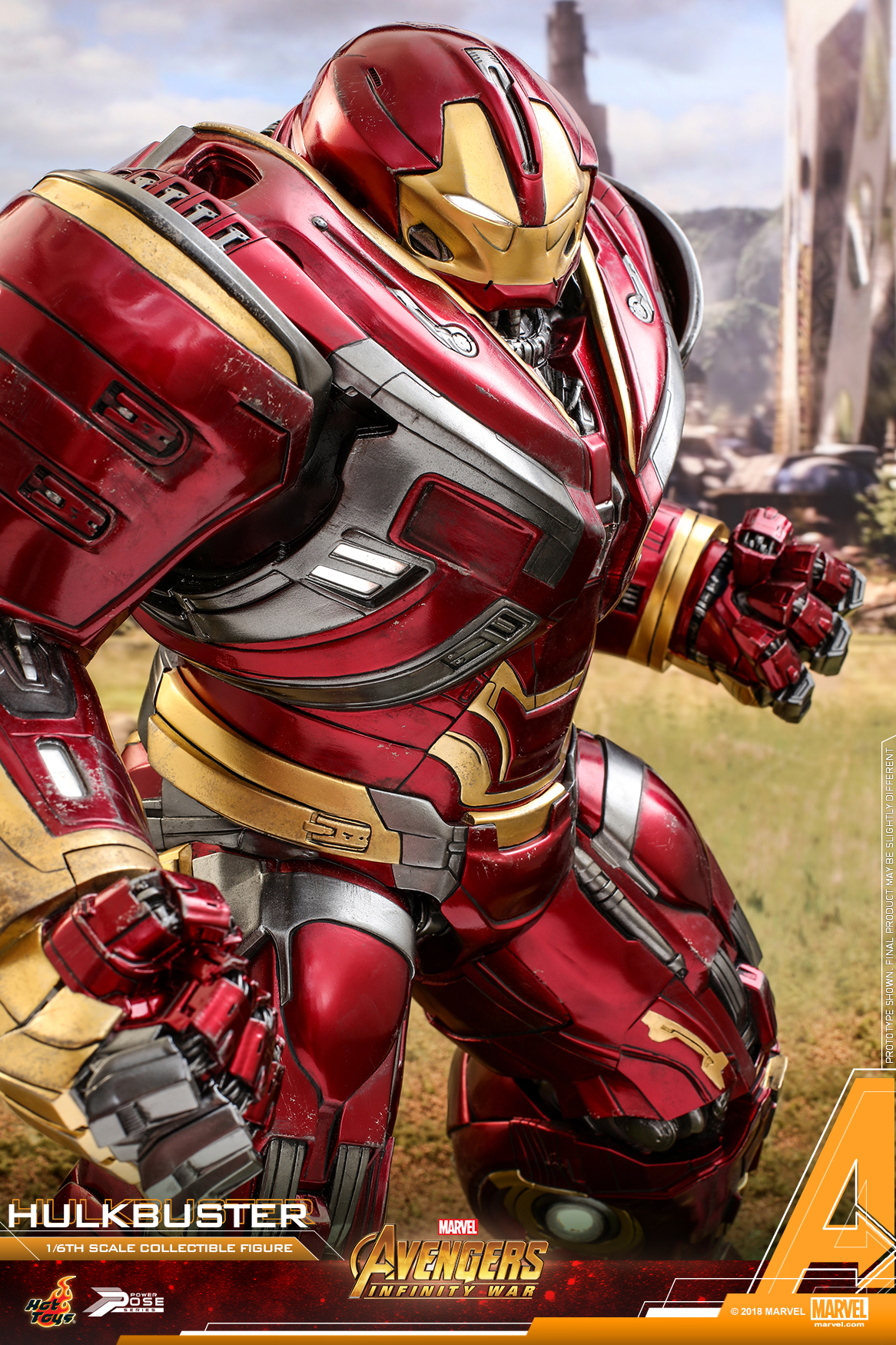 Hot Toys - AIW - Hulkbuster power pose collectible figure_PR7