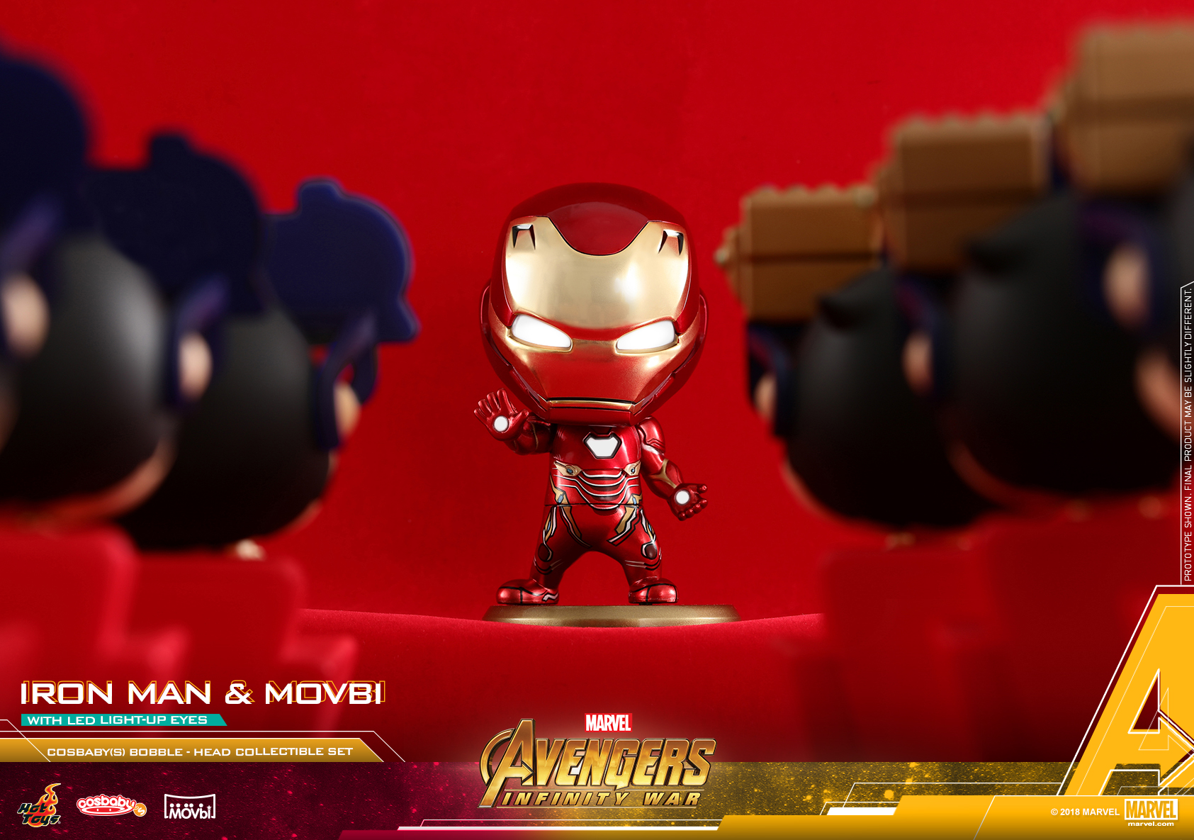 Hot Toys - AIW - Iron Man & Movbi Cosbaby Set_PR6