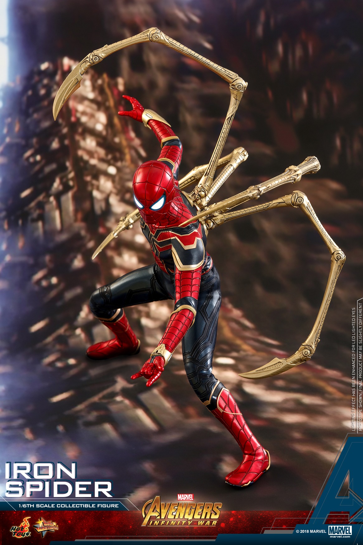 Hot Toys - AIW - Iron Spider collectible figure_PR1