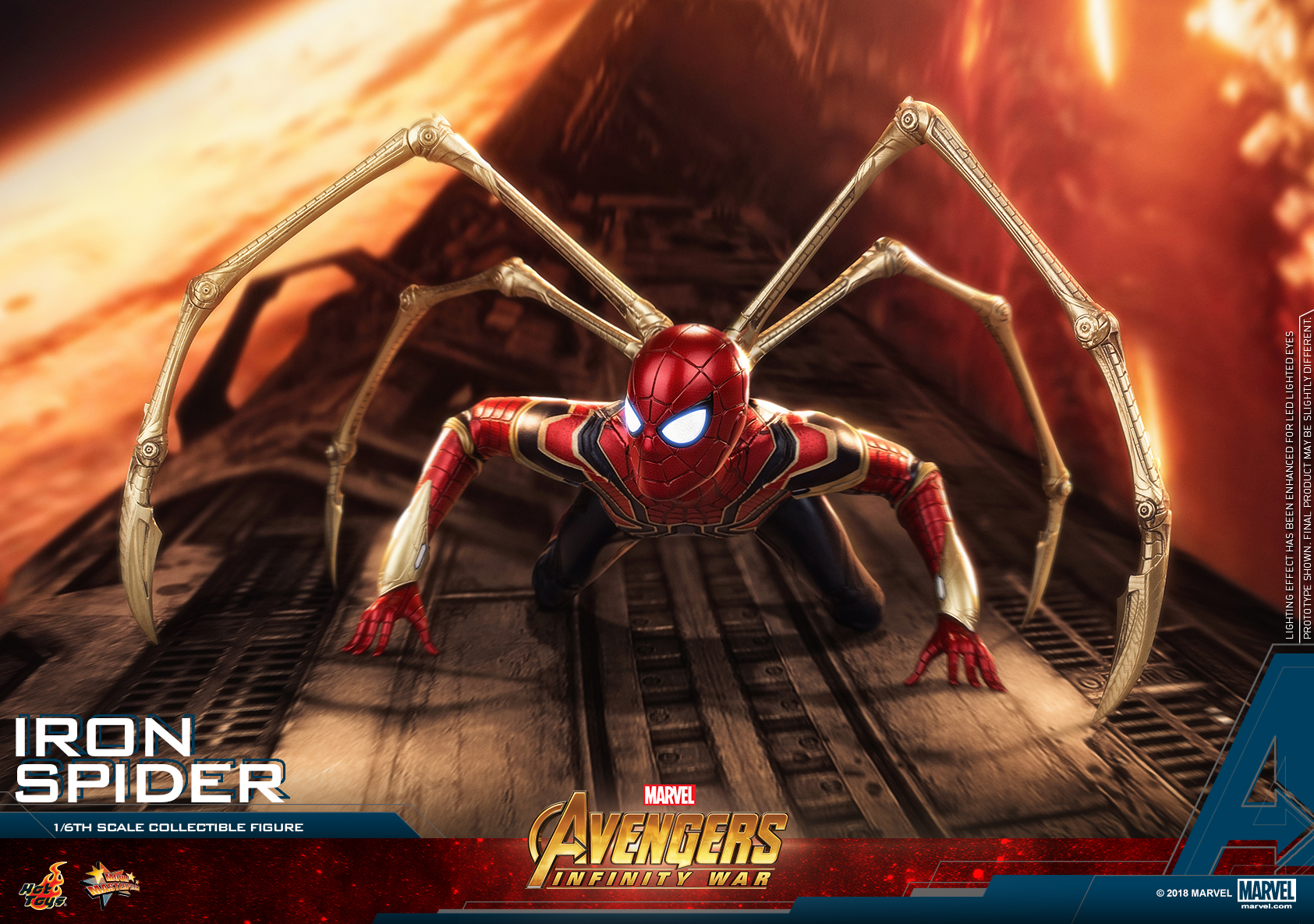 Hot Toys - AIW - Iron Spider collectible figure_PR20