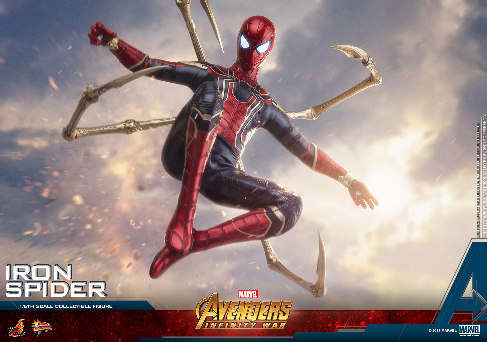 Hot Toys - AIW - Iron Spider collectible figure_PR22