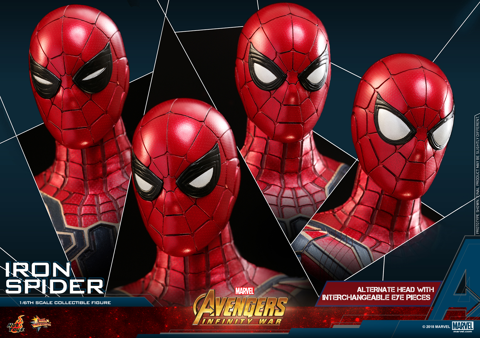 Hot Toys - AIW - Iron Spider collectible figure_PR24