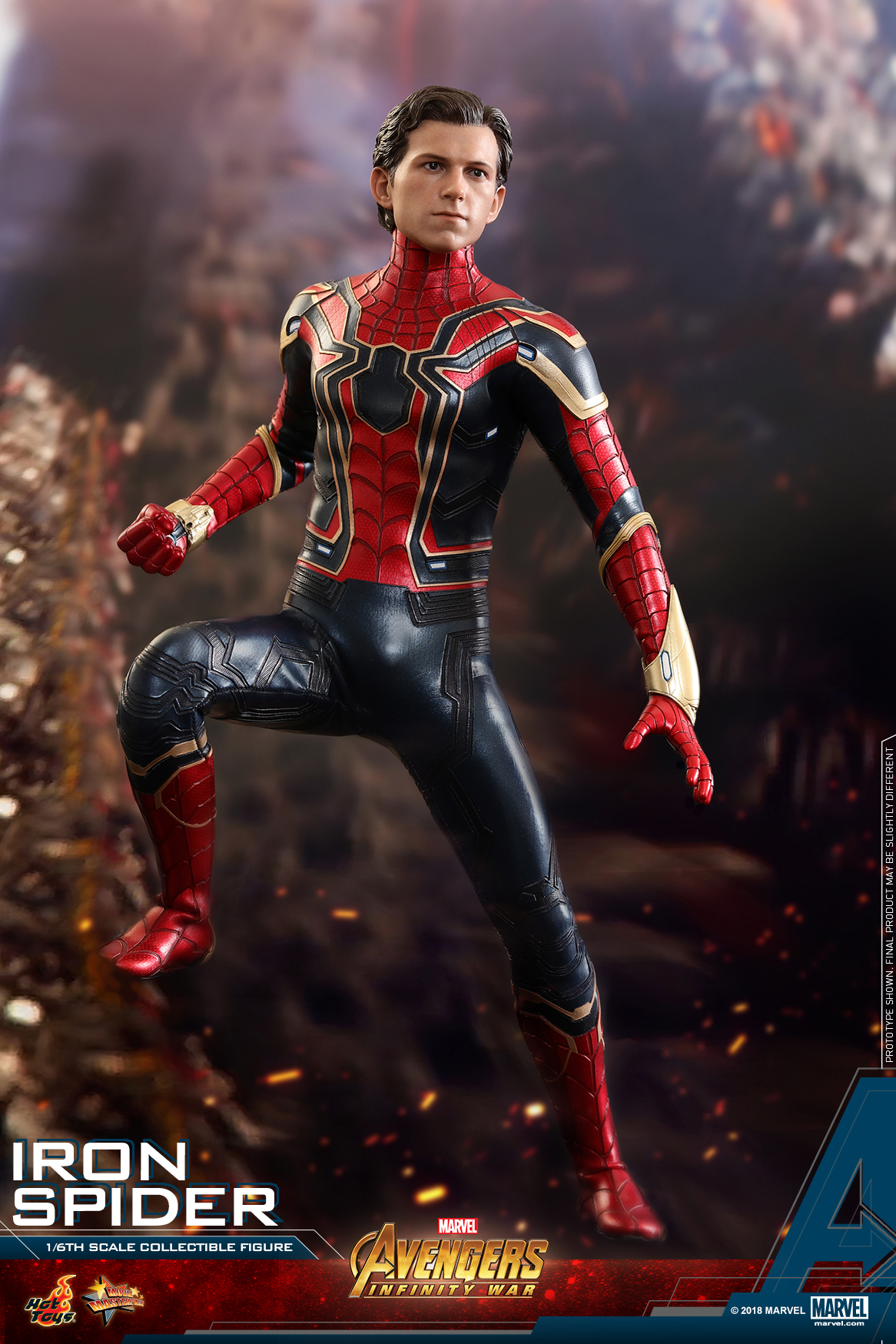 Hot Toys - AIW - Iron Spider collectible figure_PR8