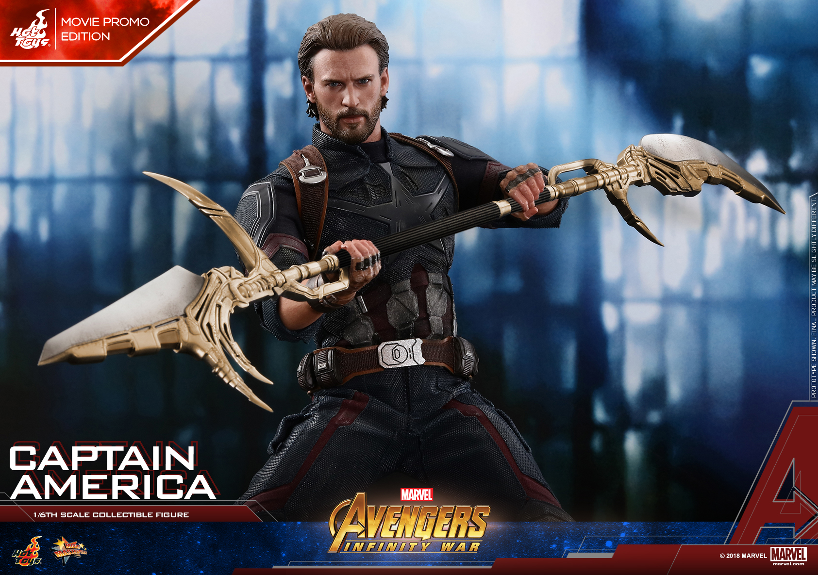 Hot Toys - AIW - Captain America collectible figure (Movie Promo)_Mystery Weapon PR01