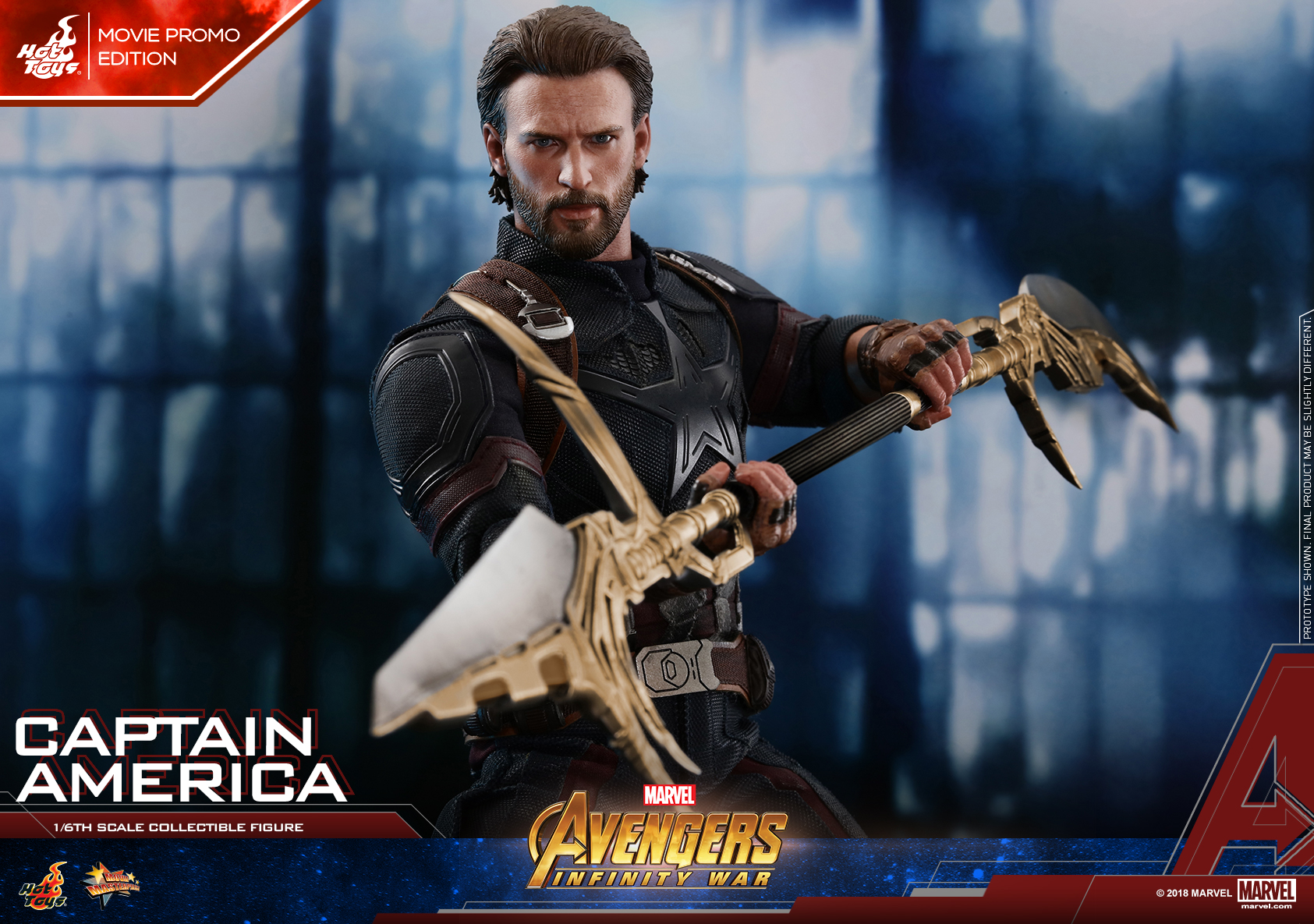 Hot Toys - AIW - Captain America collectible figure (Movie Promo)_Mystery Weapon PR02