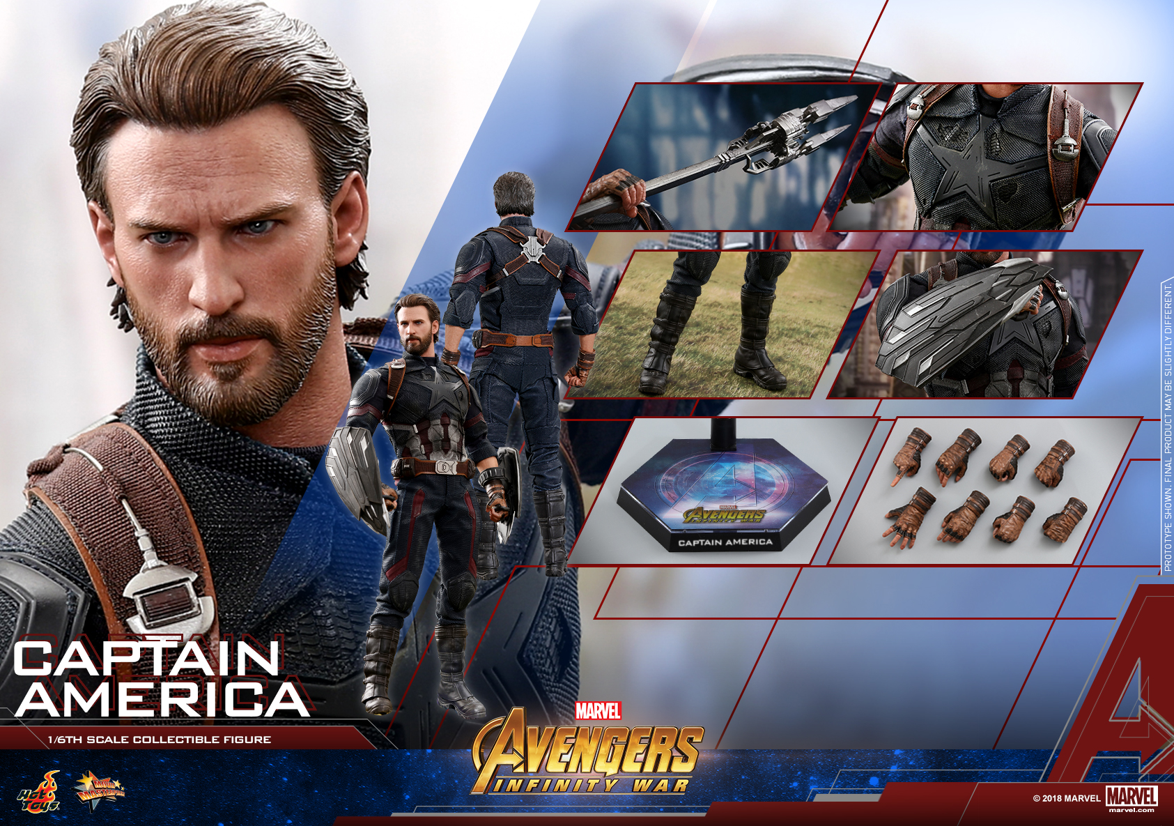 Hot Toys - AIW - Captain America collectible figure_Mystery Weaspon_PR03