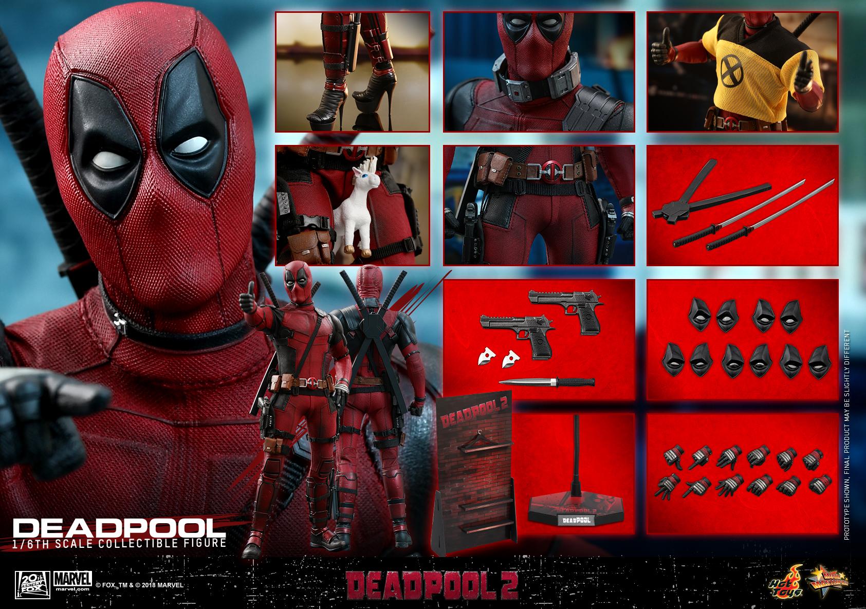 Hot Toys - Deadpool2 - Deadpool collectible figure_PR35
