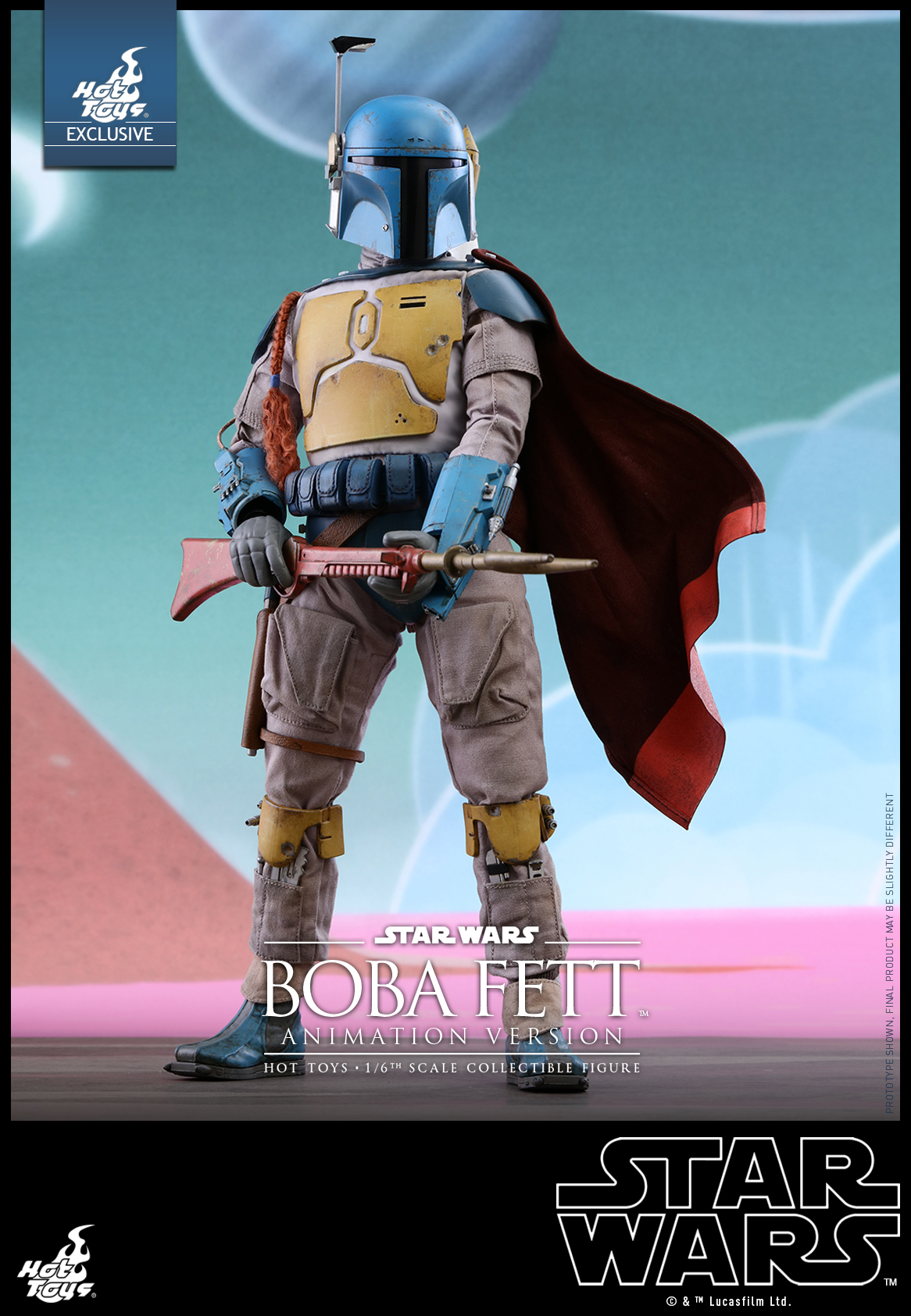 Hot Toys - Star Wars - Boba Fett (Animation Version) collectible figure_PR3