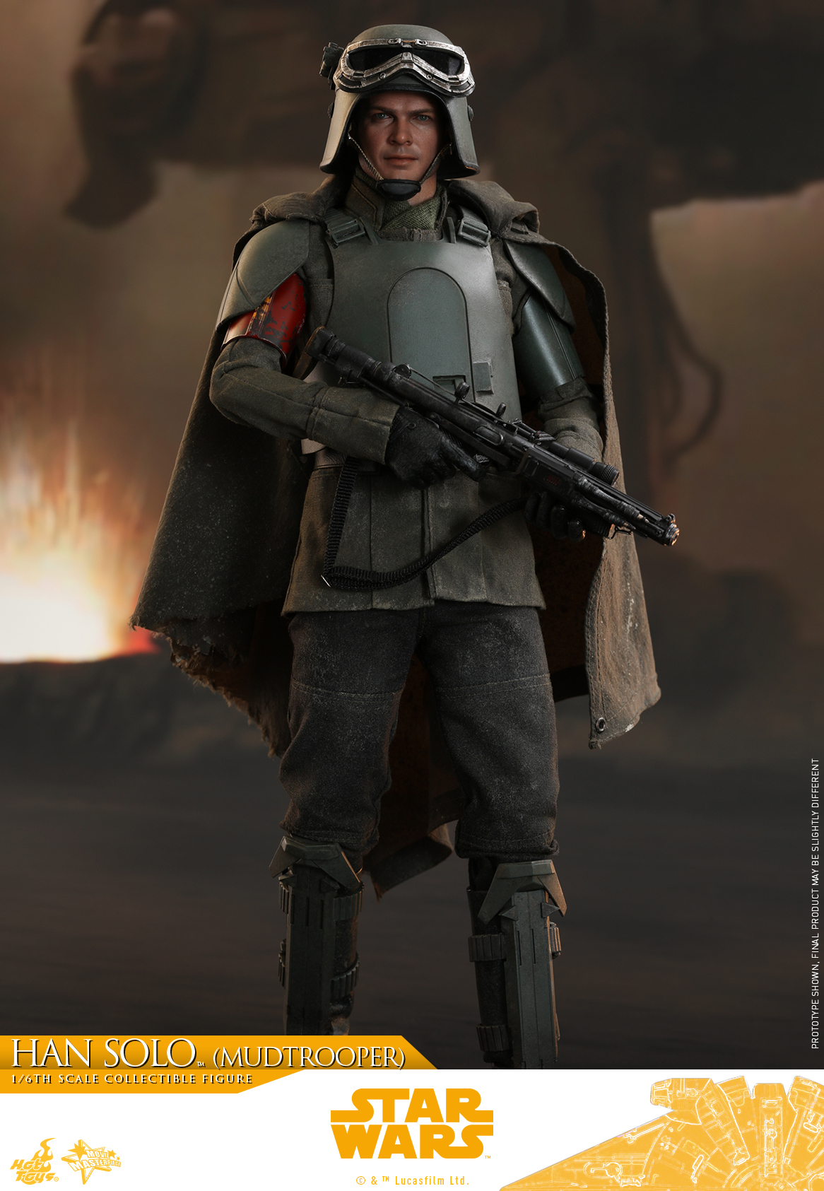 Hot Toys - Solo - Han Solo (Mudtrooper) collectible figure_PR1