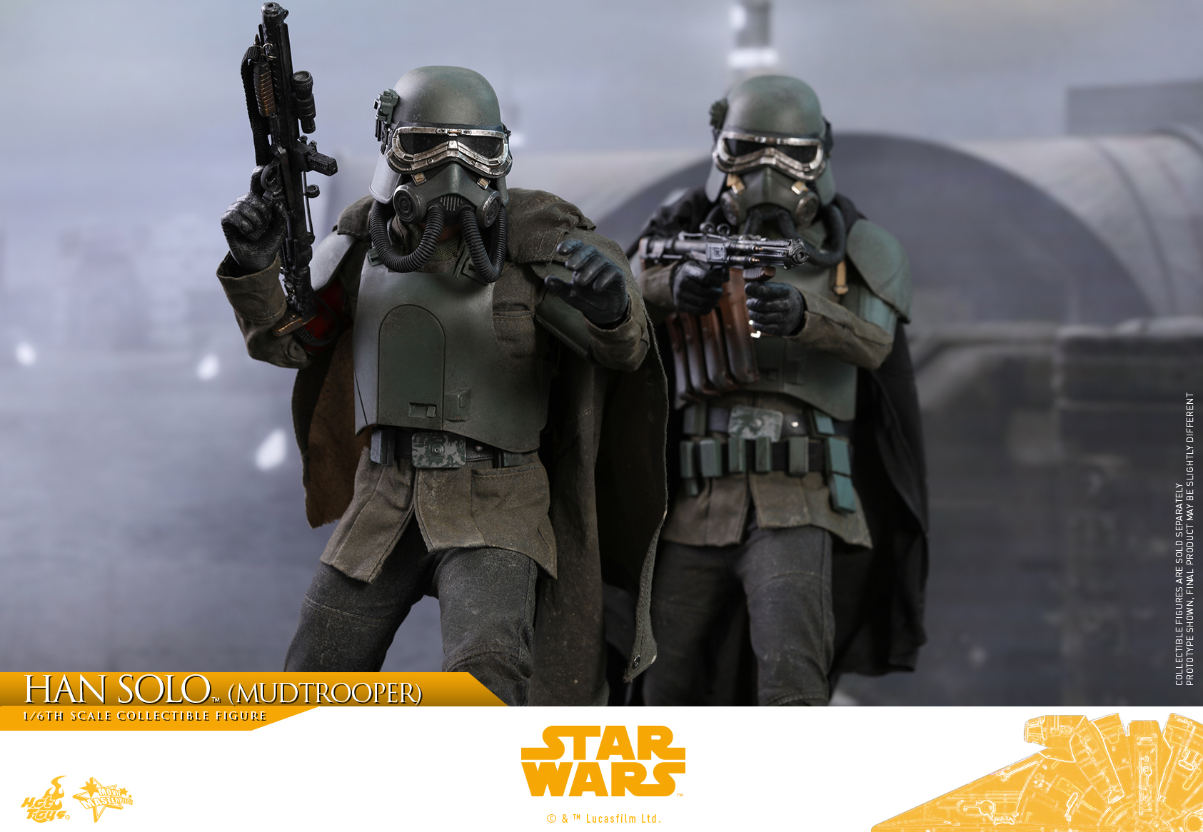 Hot Toys - Solo - Han Solo (Mudtrooper) collectible figure_PR18