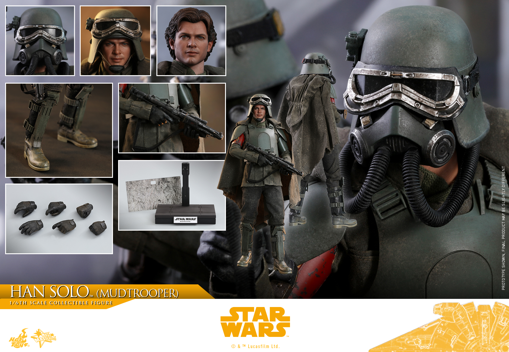 Hot Toys - Solo - Han Solo (Mudtrooper) collectible figure_PR21