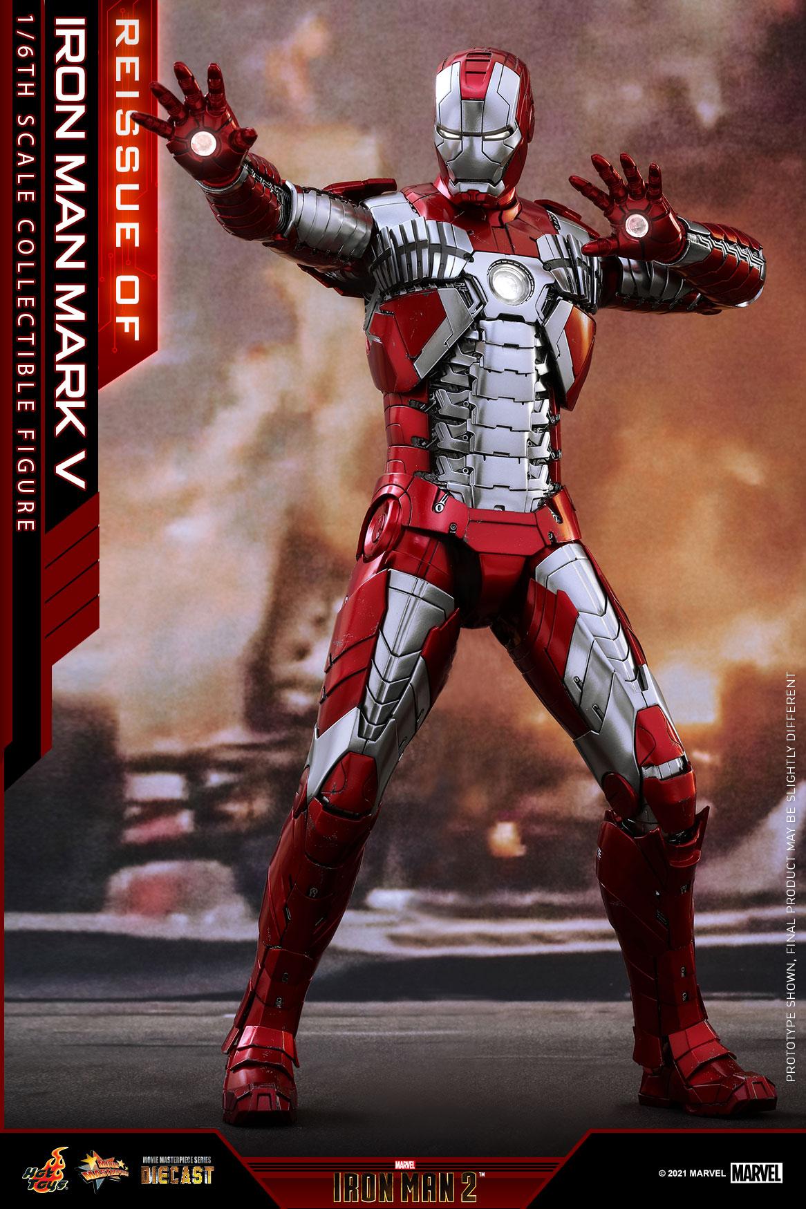Hot Toys - IM2 - Iron Man Mark V collectible figure_PR1