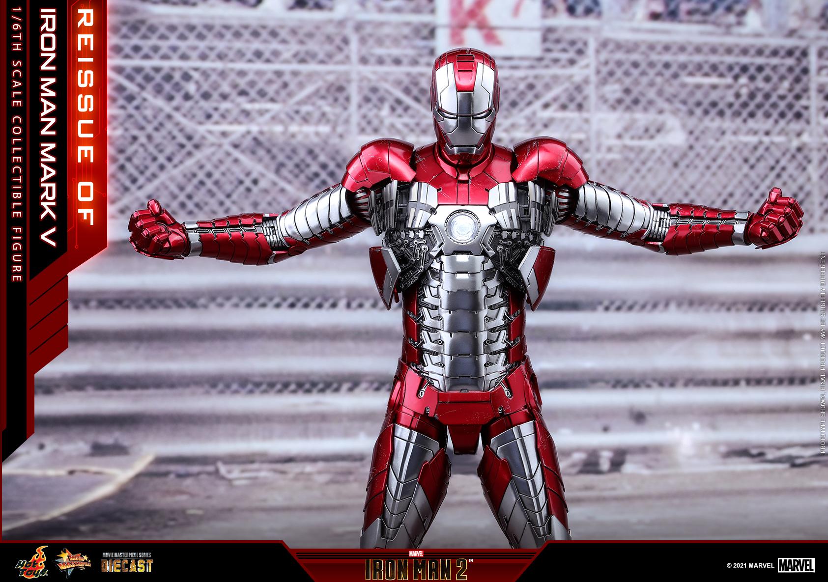 Hot Toys - IM2 - Iron Man Mark V collectible figure_PR6