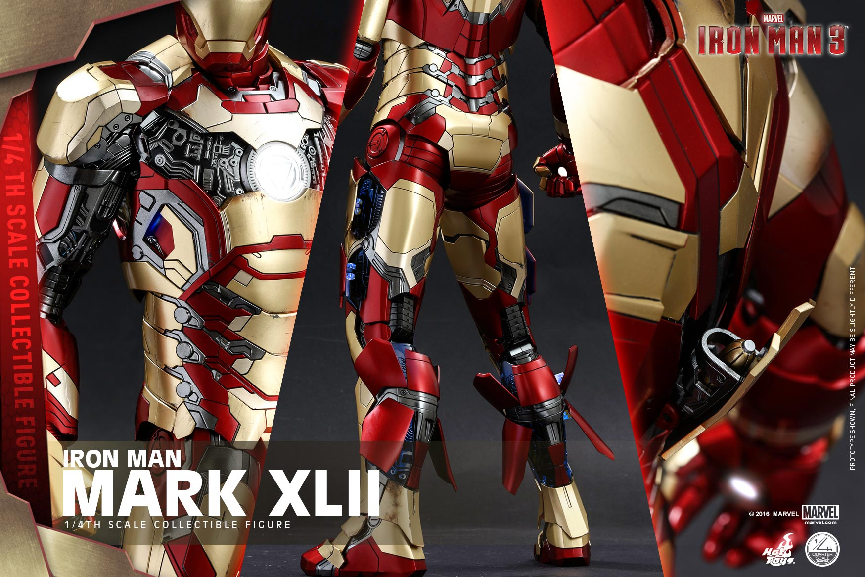 hottoys mark 42 改良 版