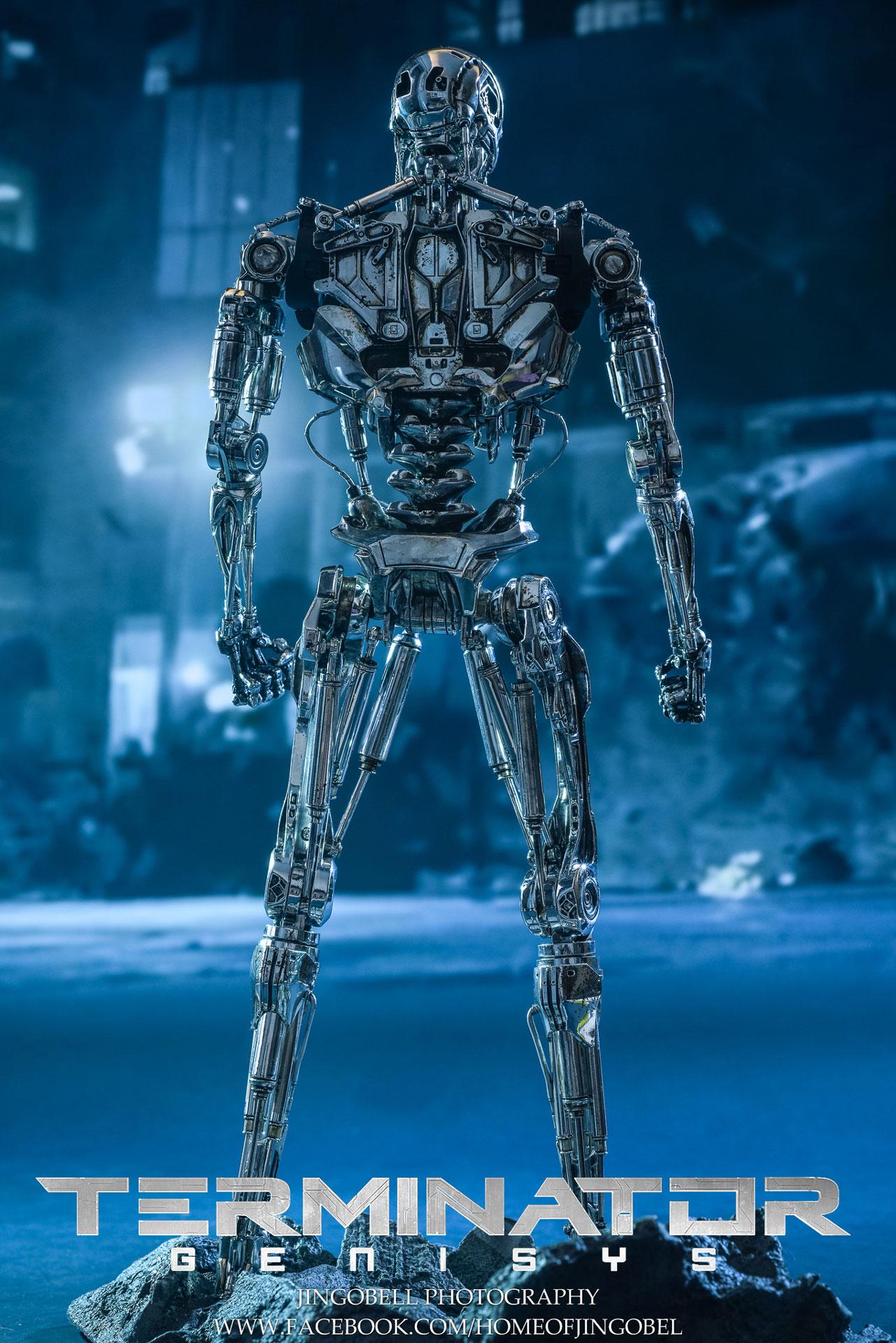 复仇者联盟高清_《终结者:创世纪》T-800骨架1:6比例珍藏高清人偶实物图发布 ...