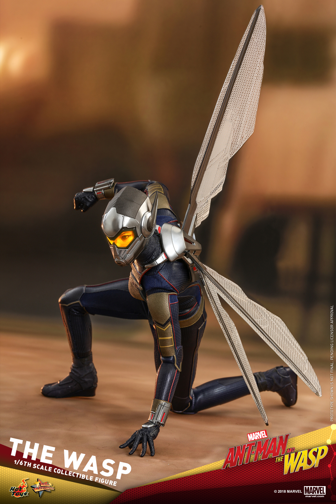Hot Toys - Ant-Man and The Wasp - The Wasp Collectible Figure_PR12