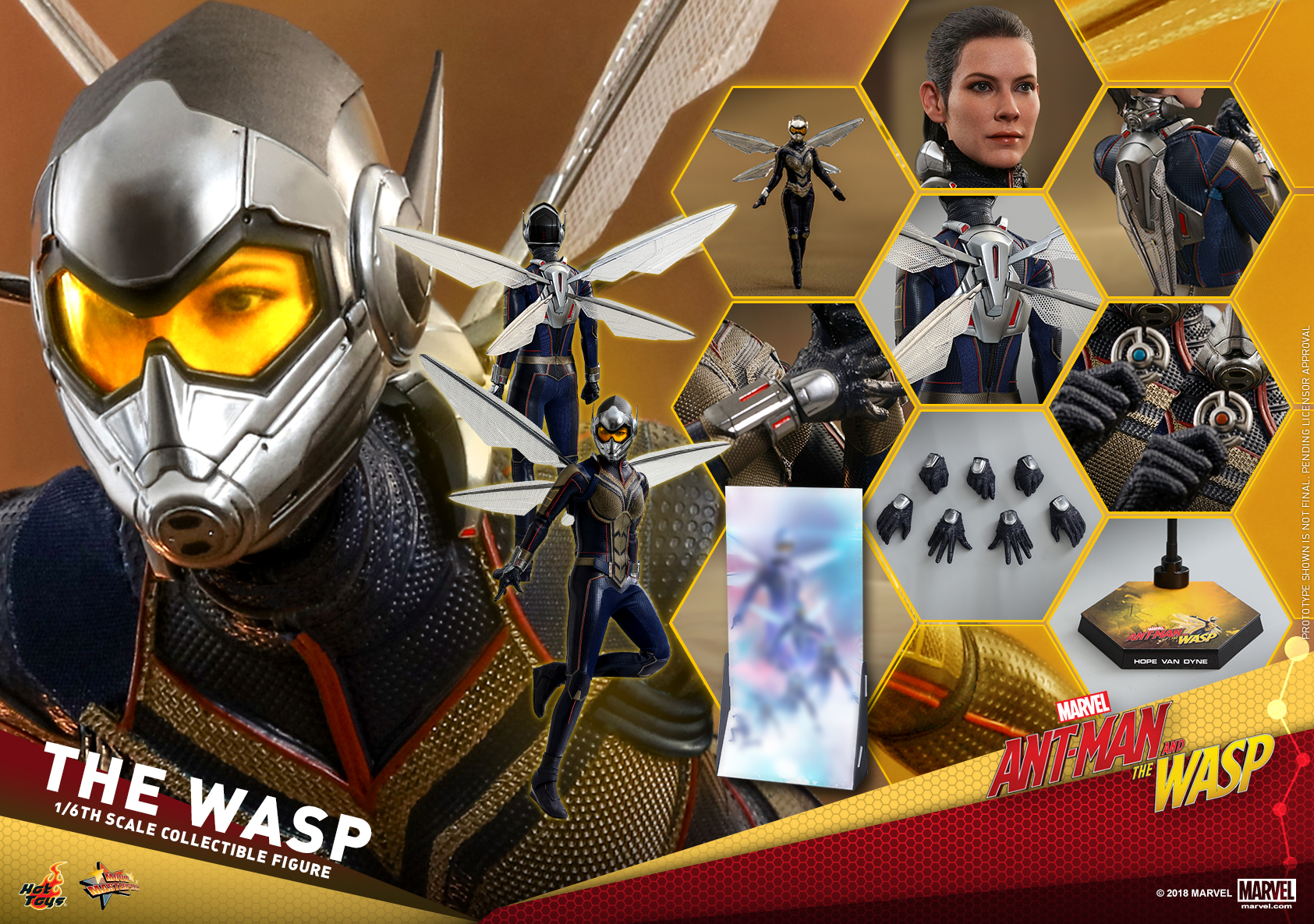 Hot Toys - Ant-Man and The Wasp - The Wasp Collectible Figure_PR29