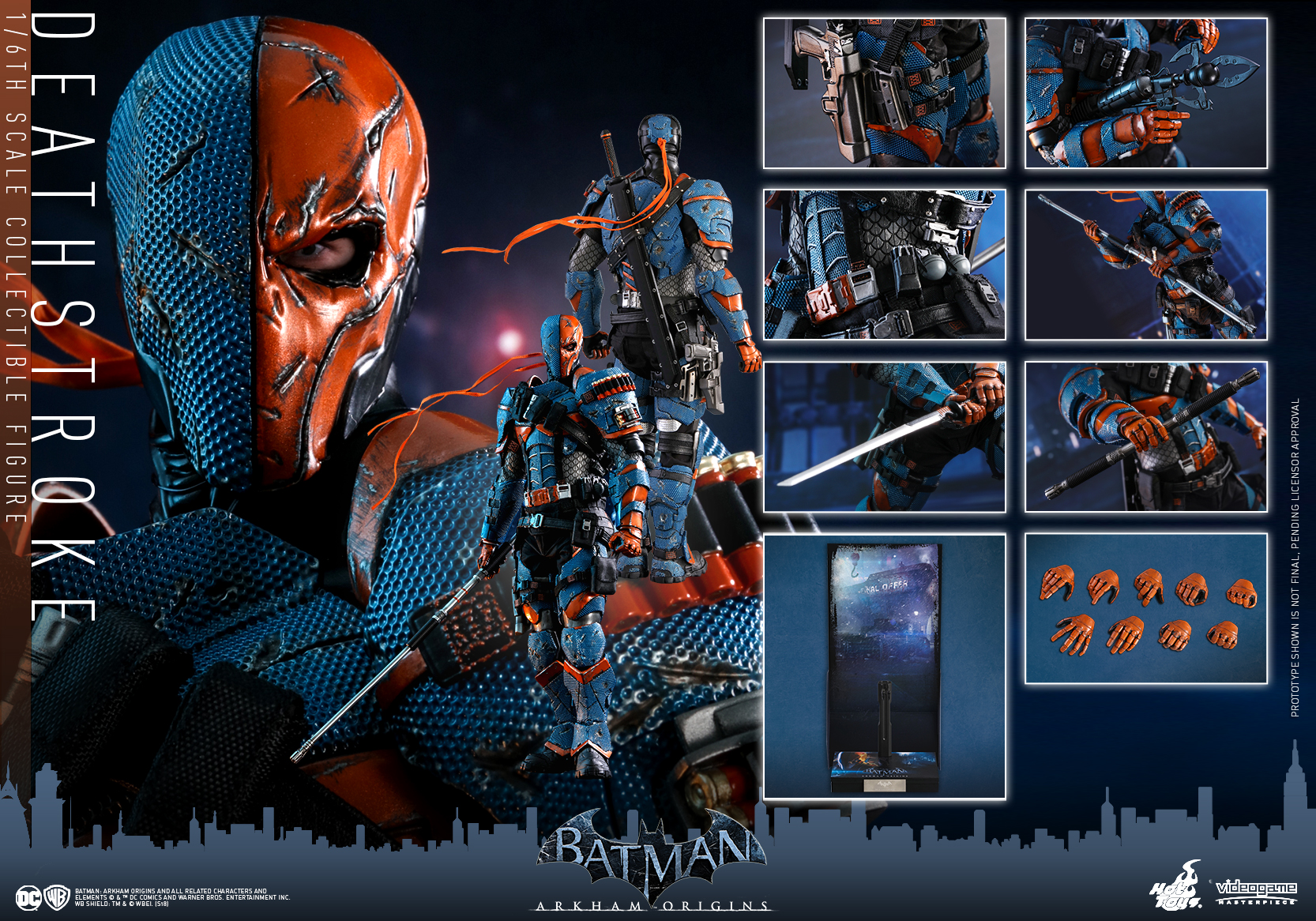 Hot Toys - Batman Arkham Origins - DeathStroke collectible figure_PR24