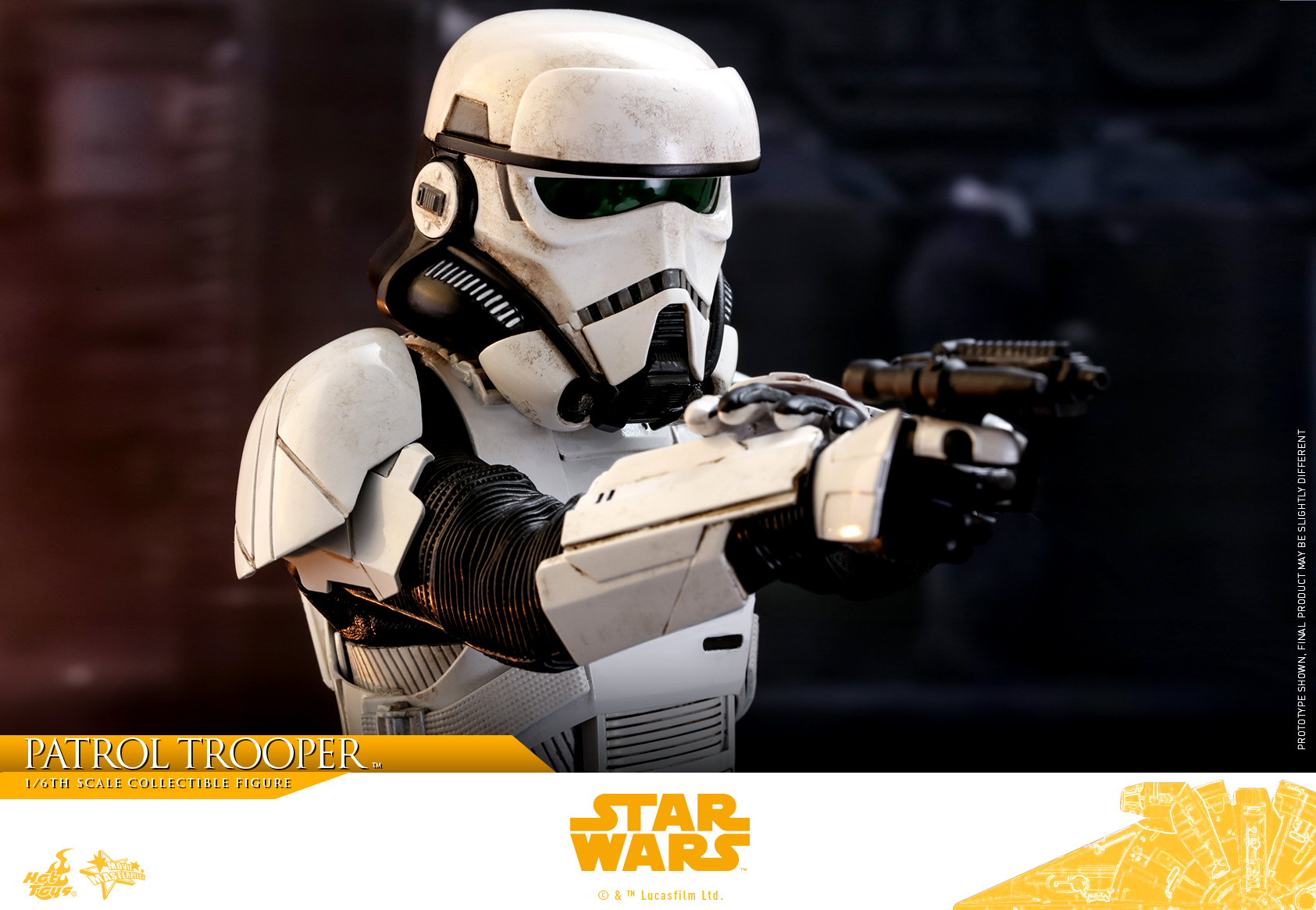 Hot Toys - Solo - A Star Wars Story - Patrol Trooper collectible figure_PR16