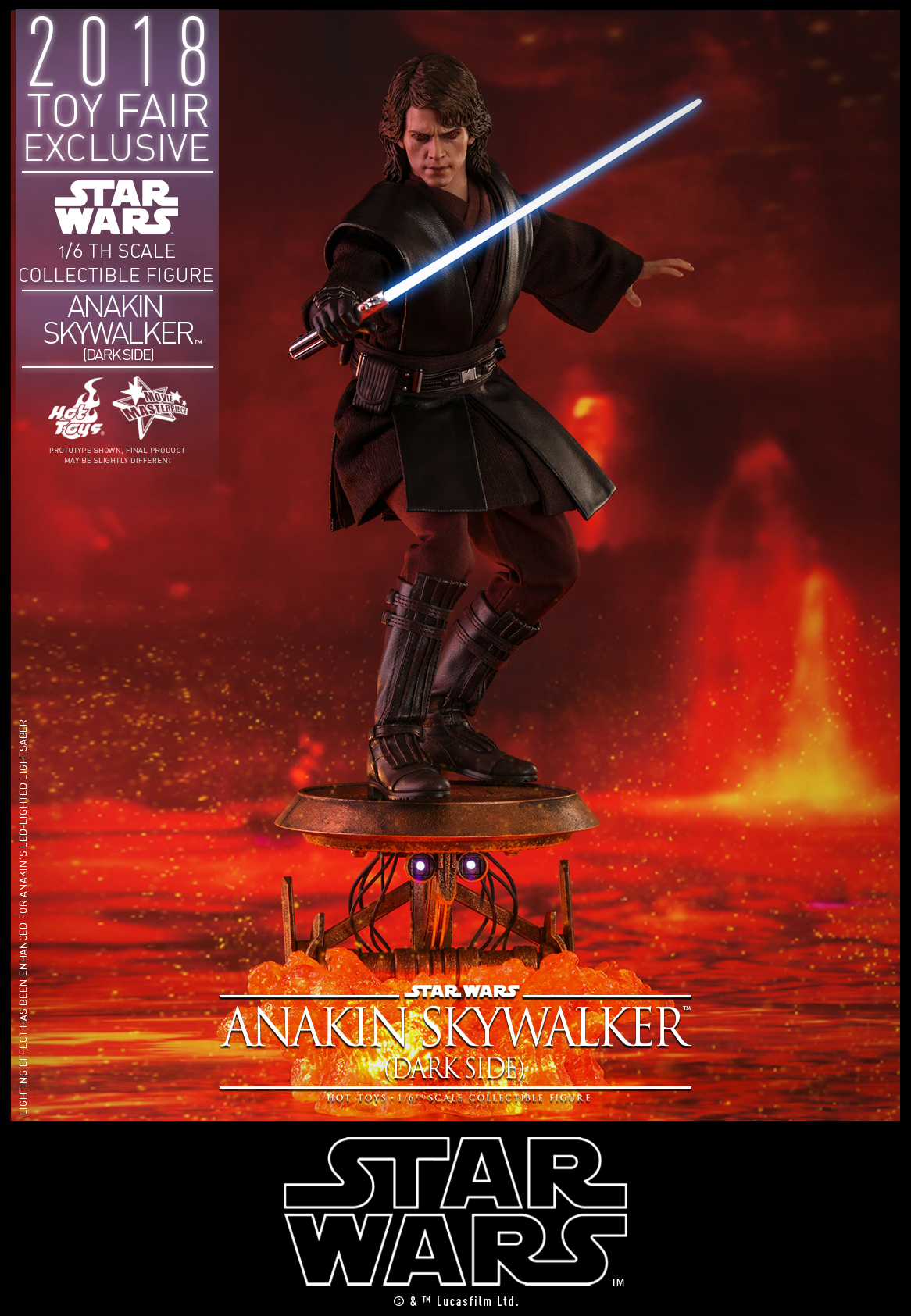 Hot Toys - Star Wars - Anakin Skywalker (Dark Side) collectible figure_PR1