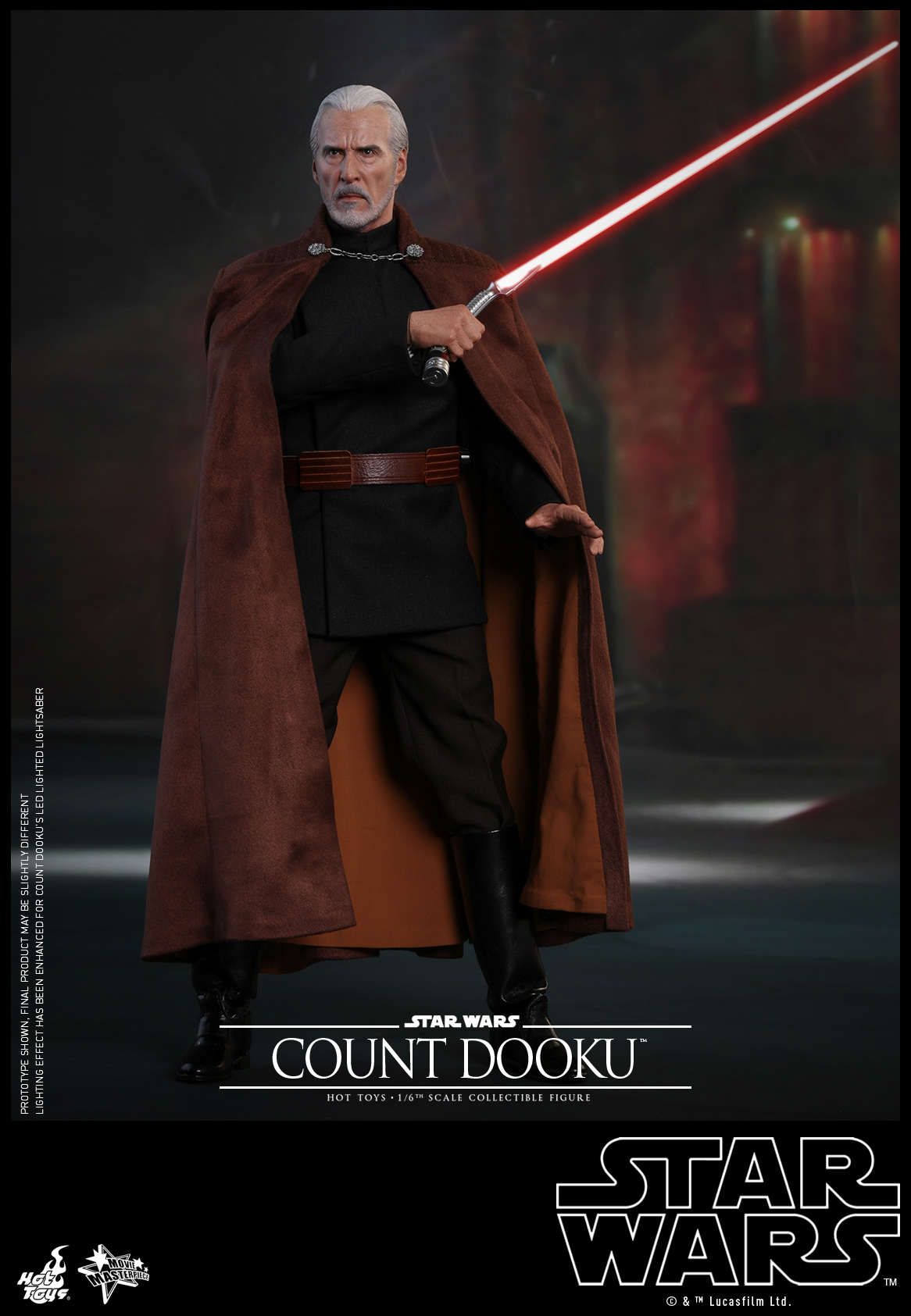 Hot Toys - Star Wars Episode II Attack of the Clones - Count Dooku Collectible Figure_PR3